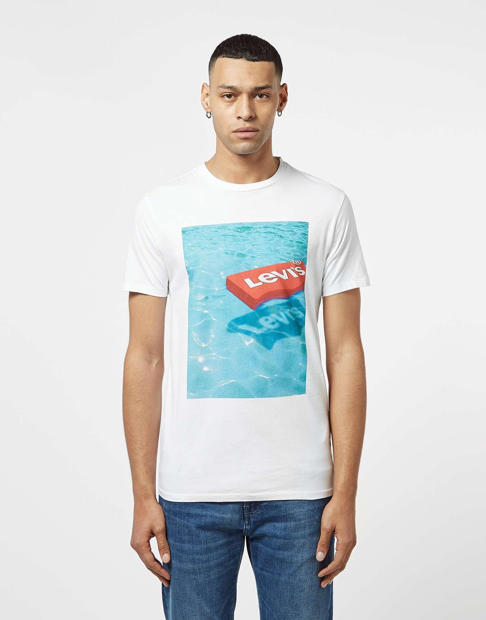 Levis Pool Logo Short Sleeve T-Shirt