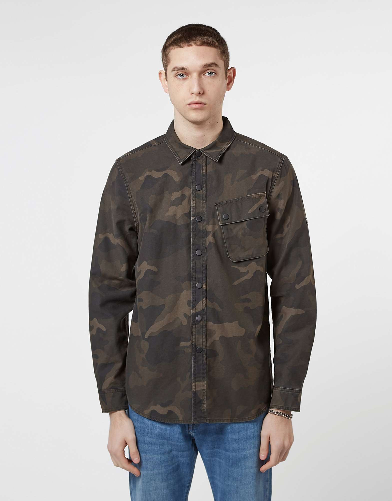 Barbour International Camouflage Overshirt