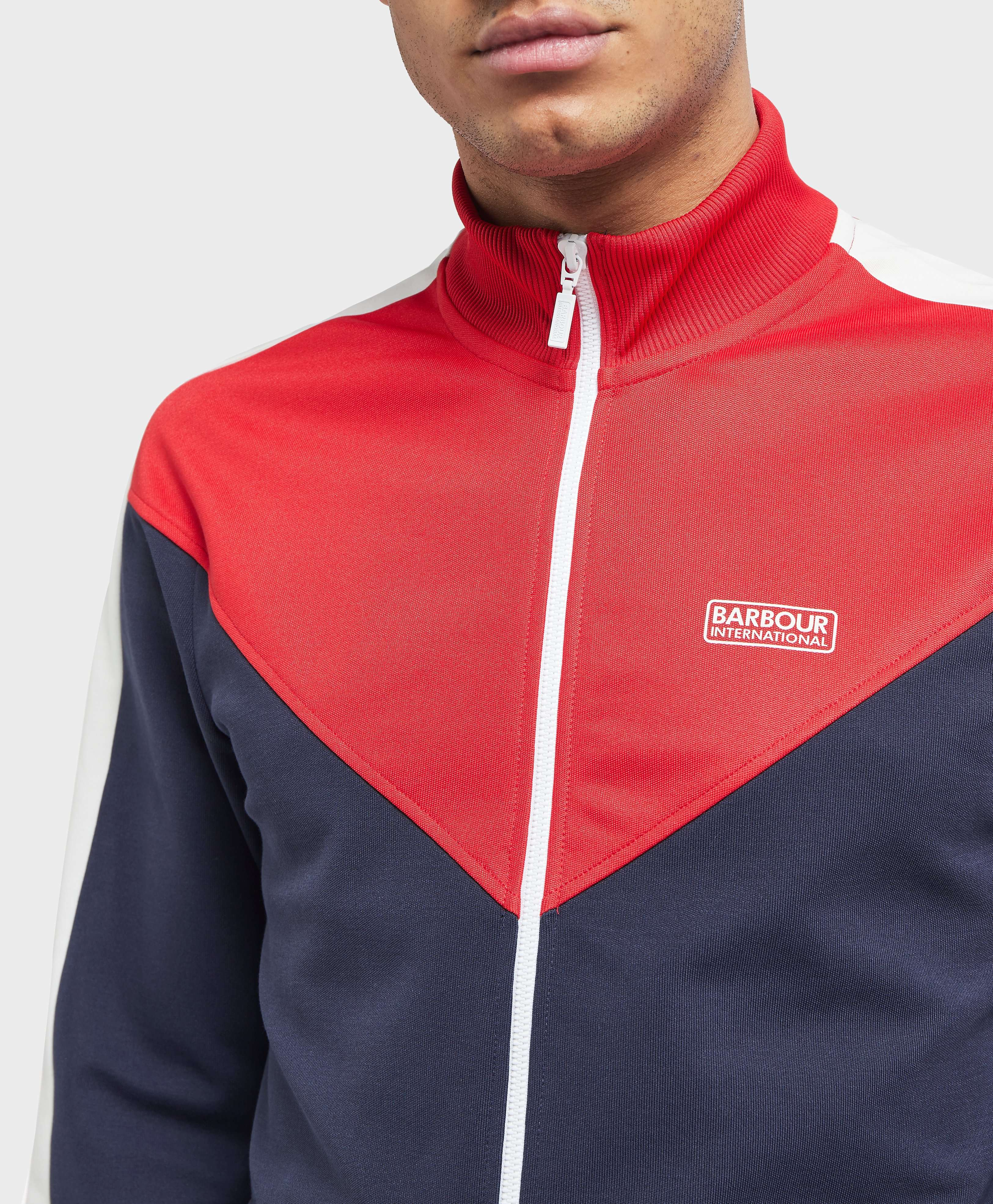 Barbour International Diode Track Top