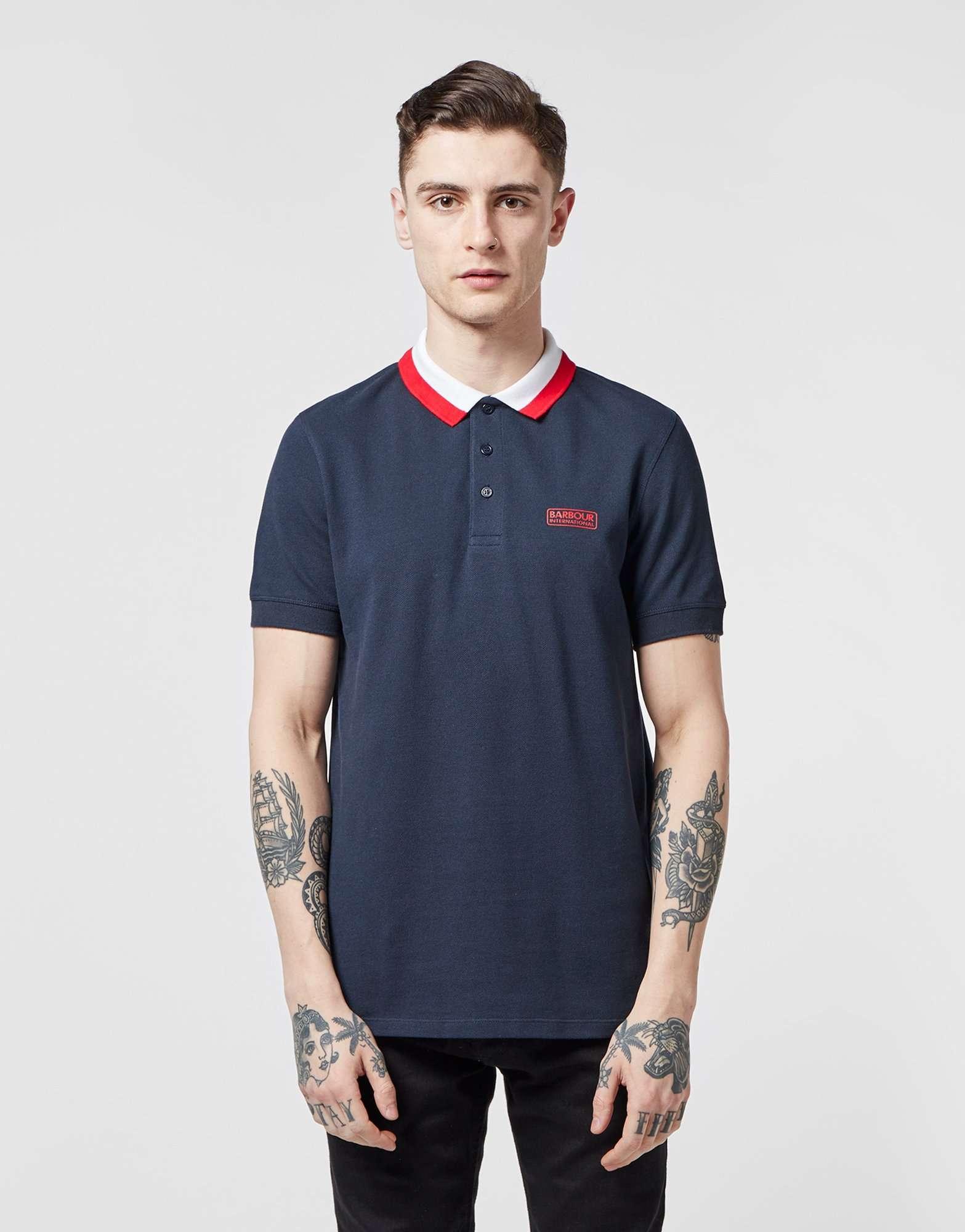 Barbour International Ampere Short Sleeve Polo Shirt