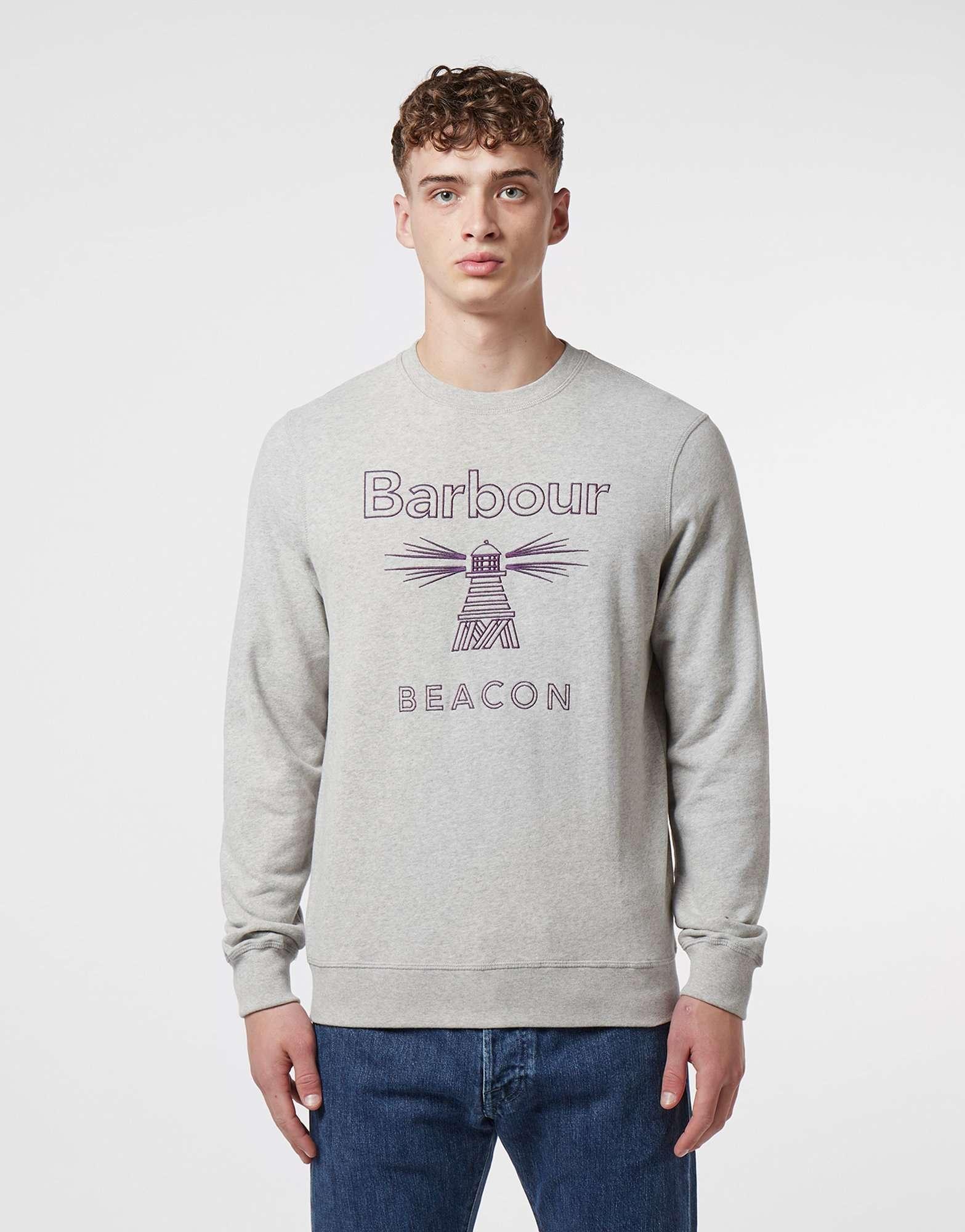 Barbour Beacon Stitch Logo Sweatshirt
