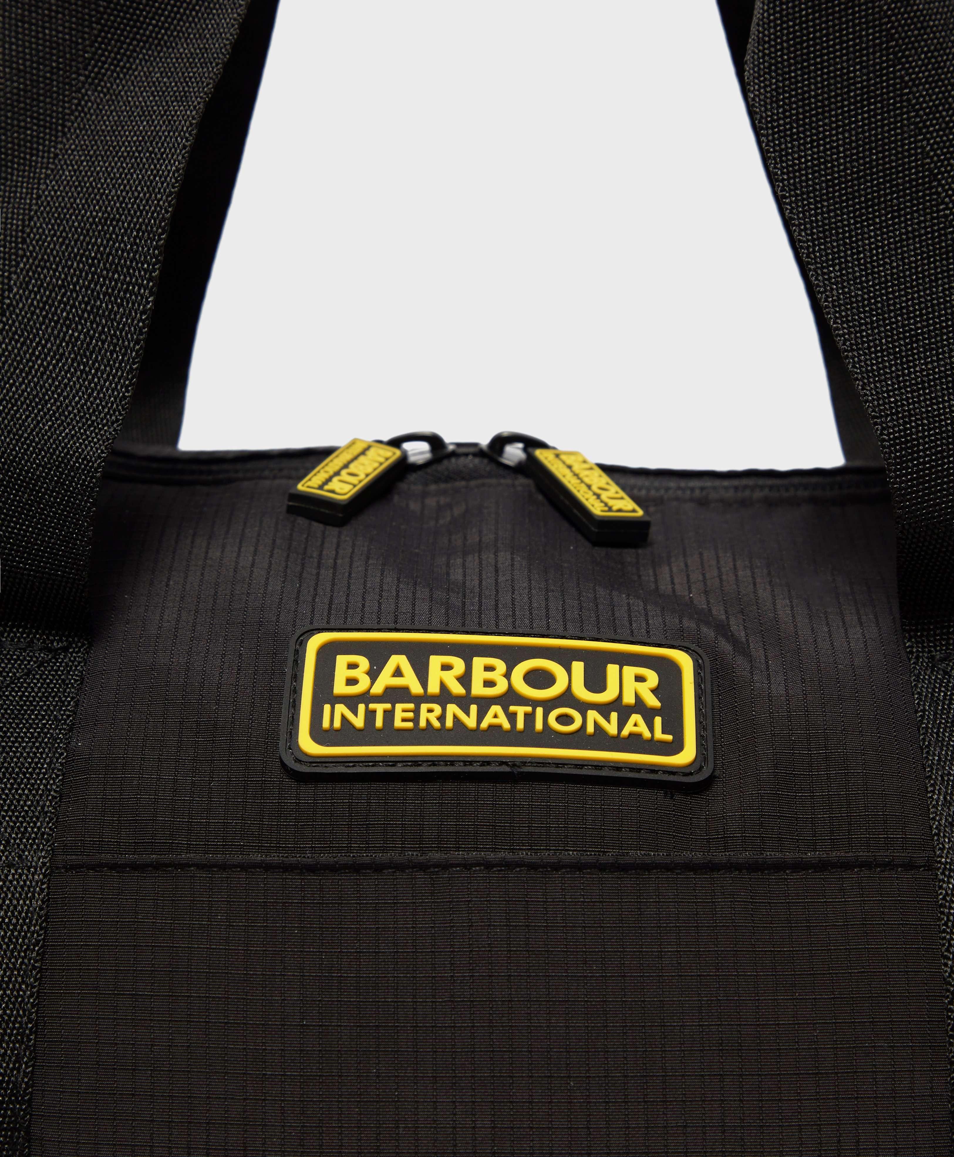 Barbour International Ripstop Barrel Bag