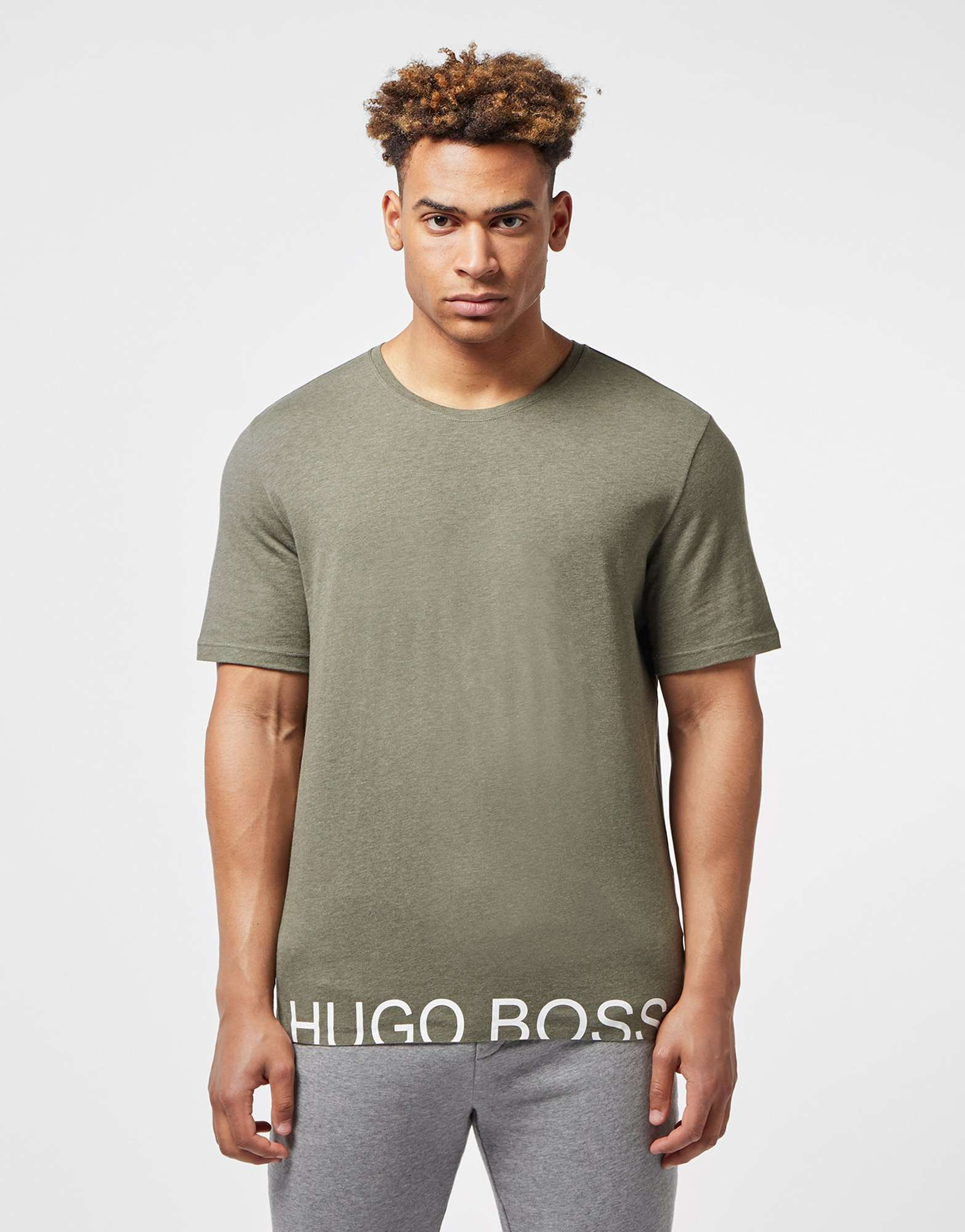 BOSS Hem Logo Short Sleeve T-Shirt - Online Exclusive