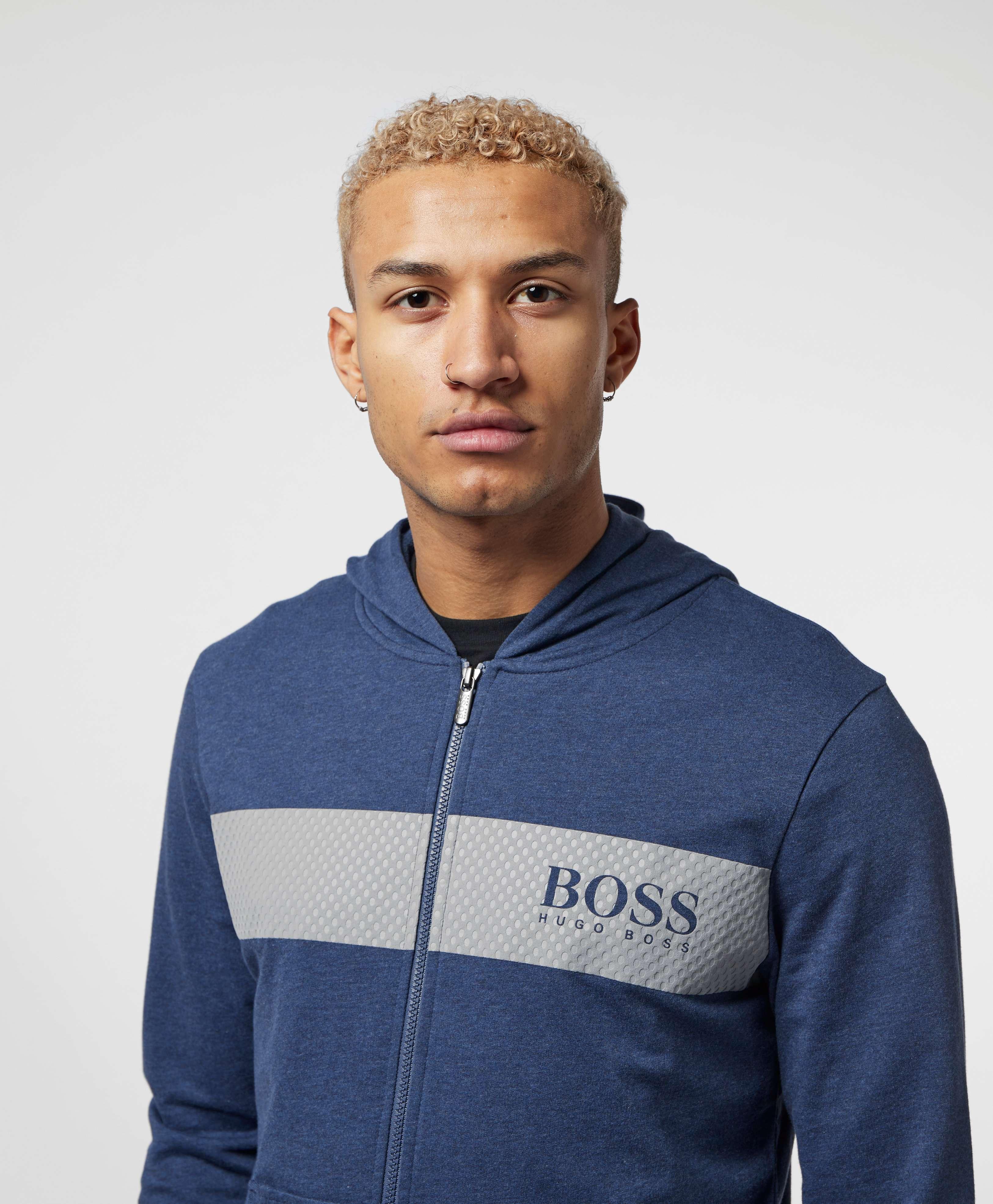 BOSS Panel Full Zip Hoodie