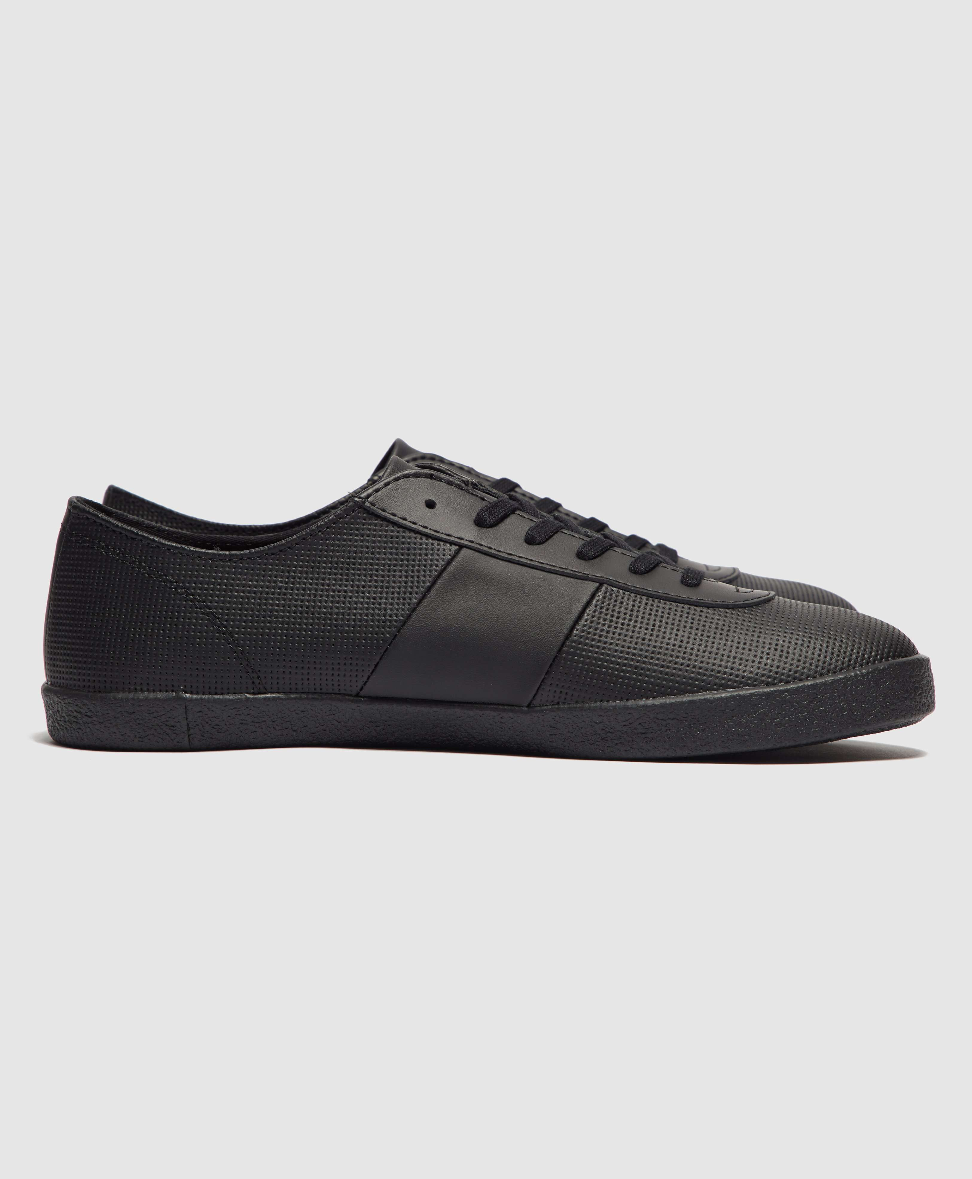 Fred Perry x Miles Kane Leather Trainers