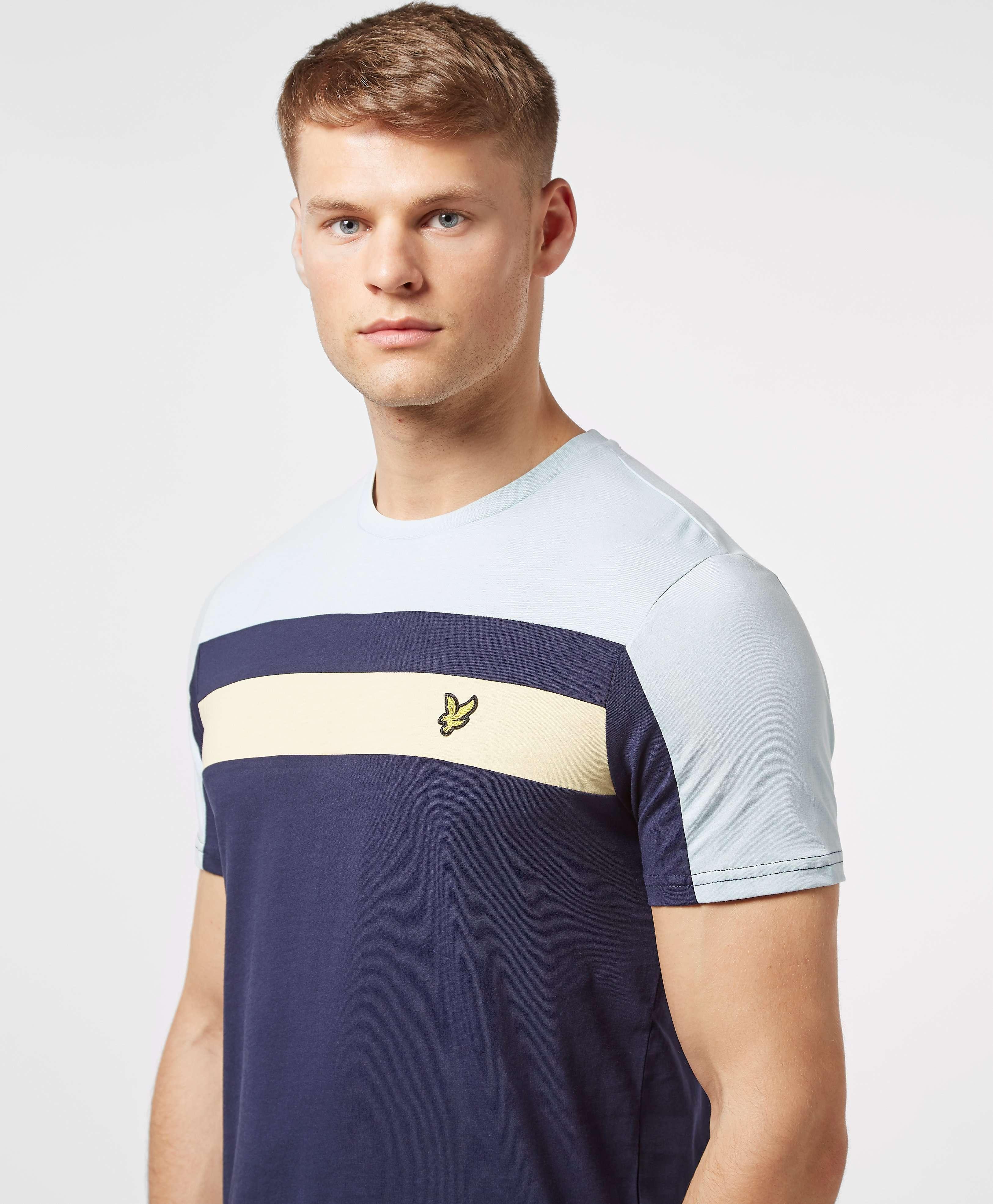 Lyle & Scott Short Sleeve Panel T-Shirt