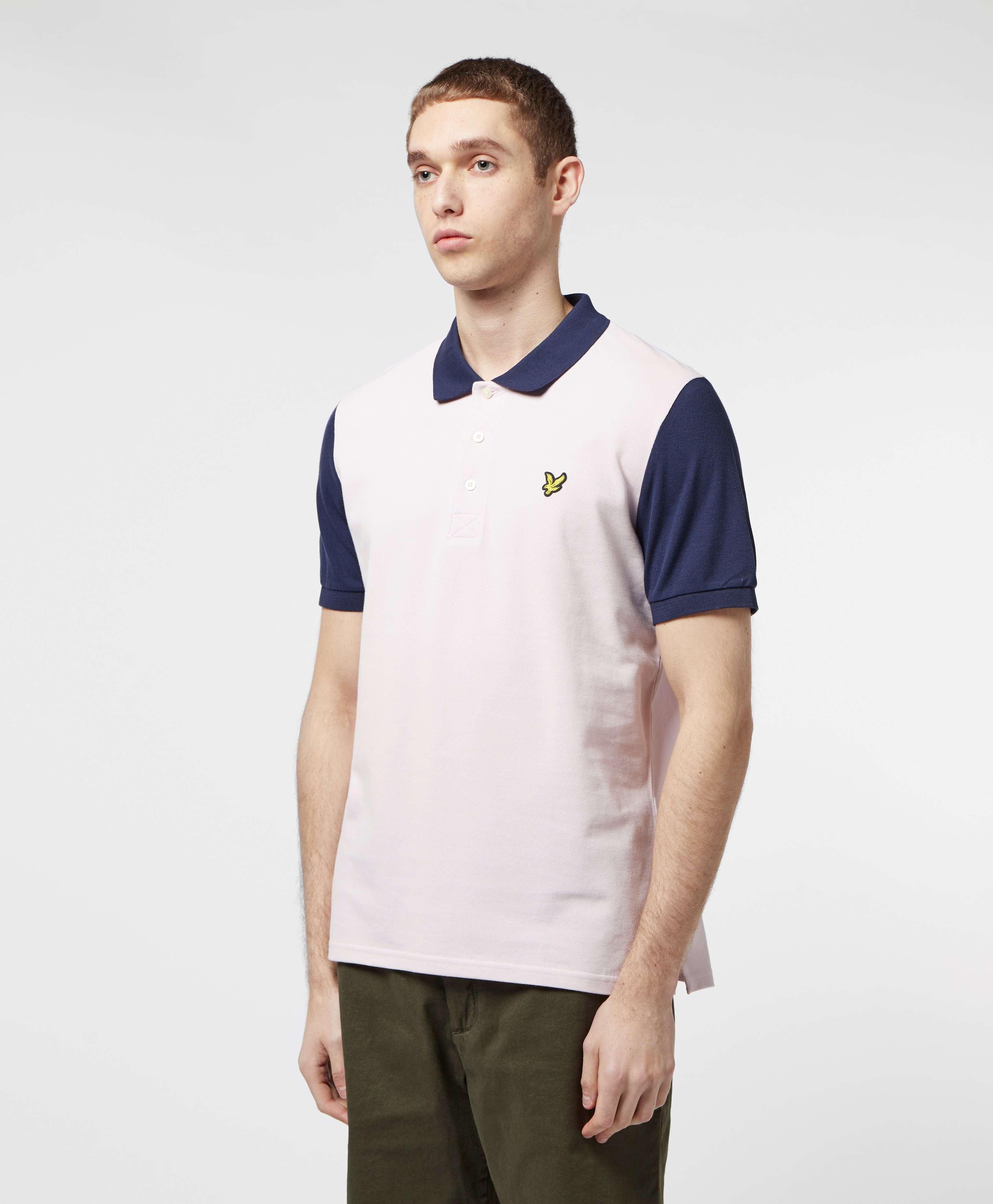 Lyle & Scott Panel Short Sleeve Polo Shirt