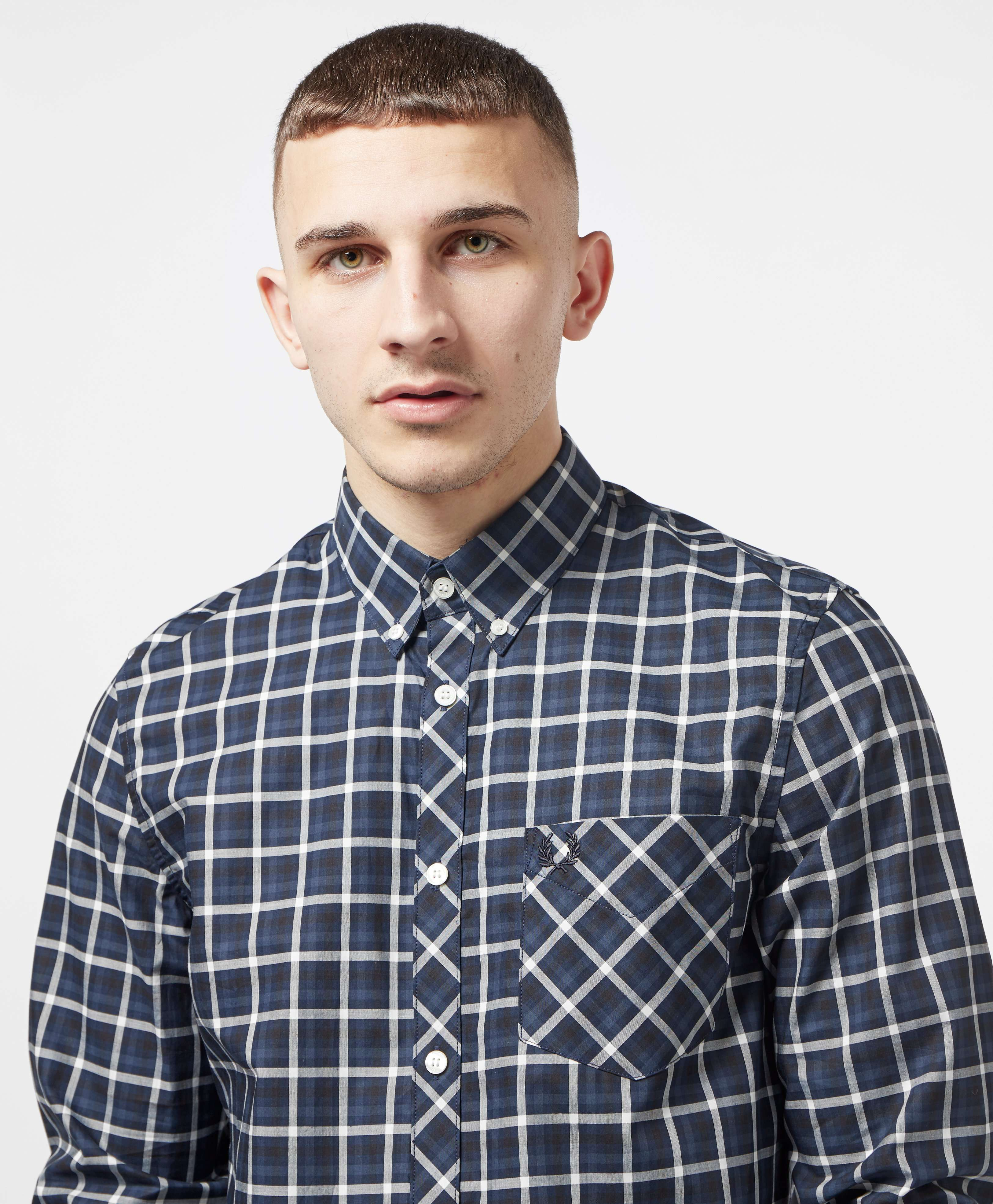Fred Perry Gingham Long Sleeve Shirt