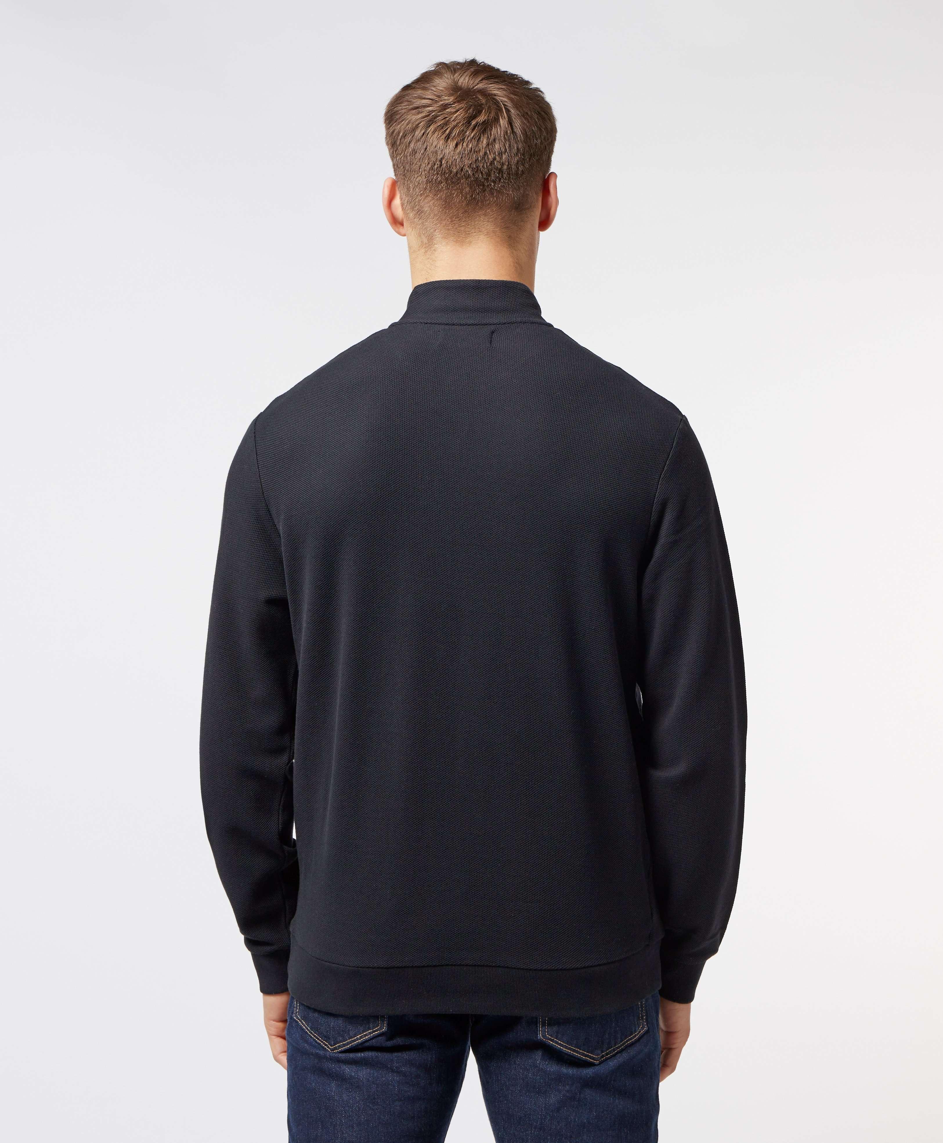 Fred Perry Half Zip Pique Sweatshirt