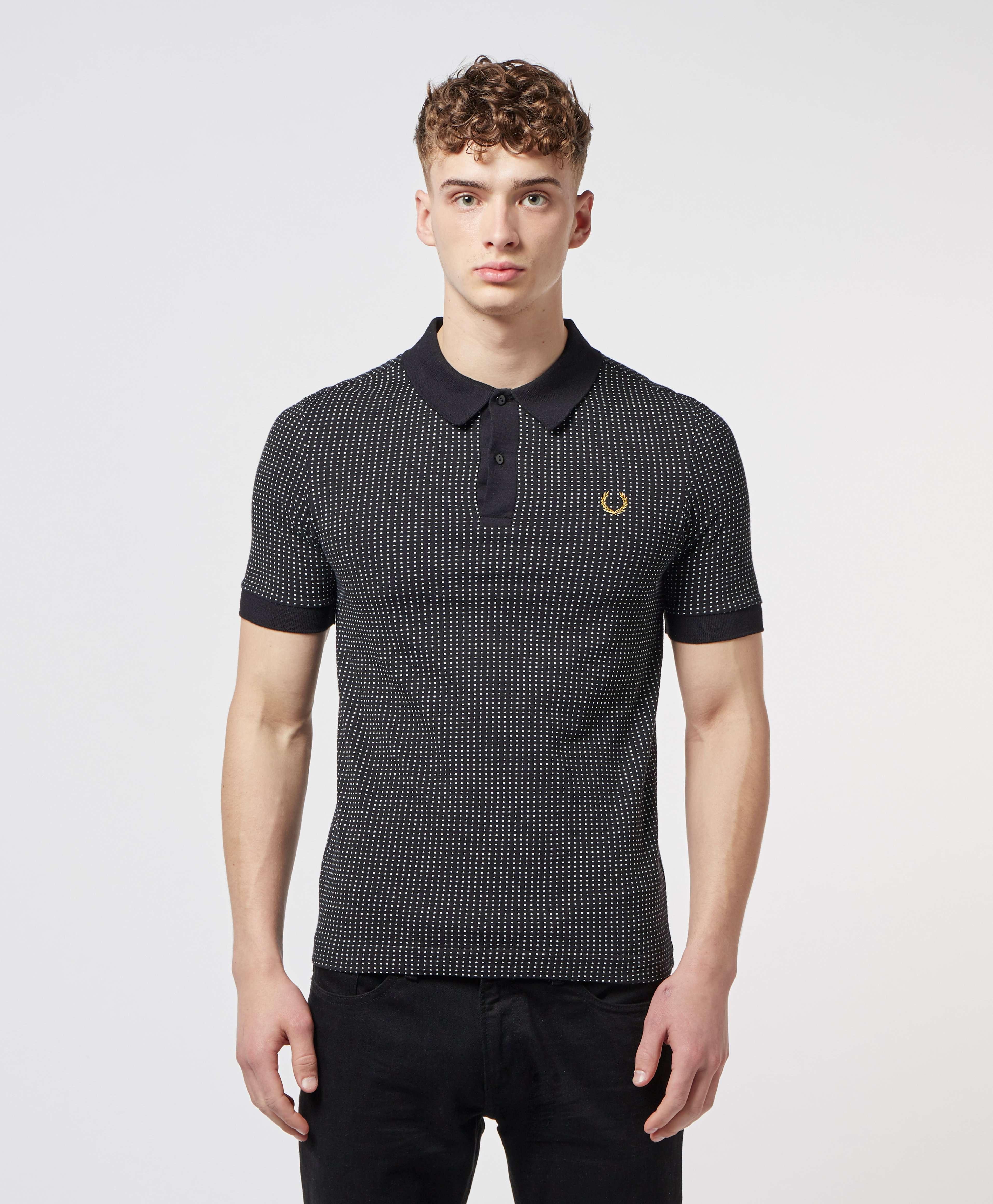 Fred Perry x Miles Kane Short Sleeve Jacquard Polo Shirt