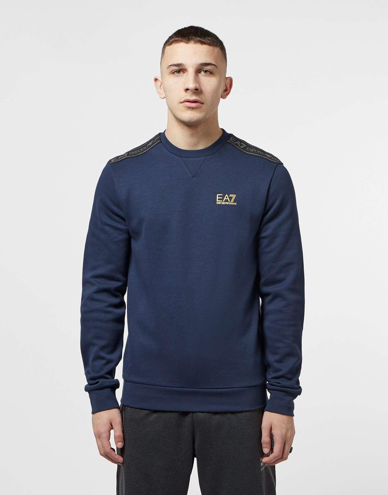 Emporio Armani EA7 Tape Crew Sweatshirt