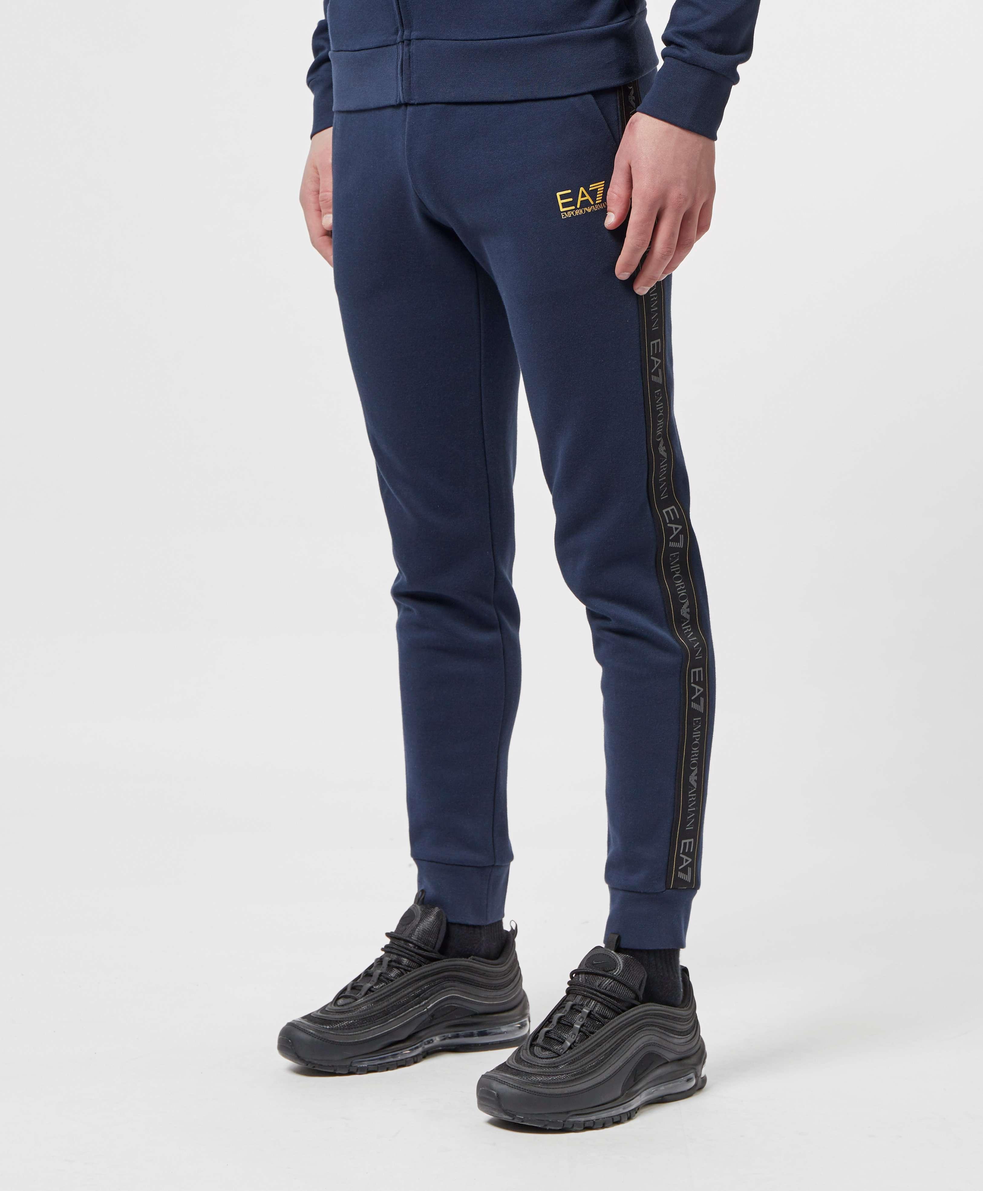 Emporio Armani EA7 Tape Cuffed Fleece Pants - Exclusive