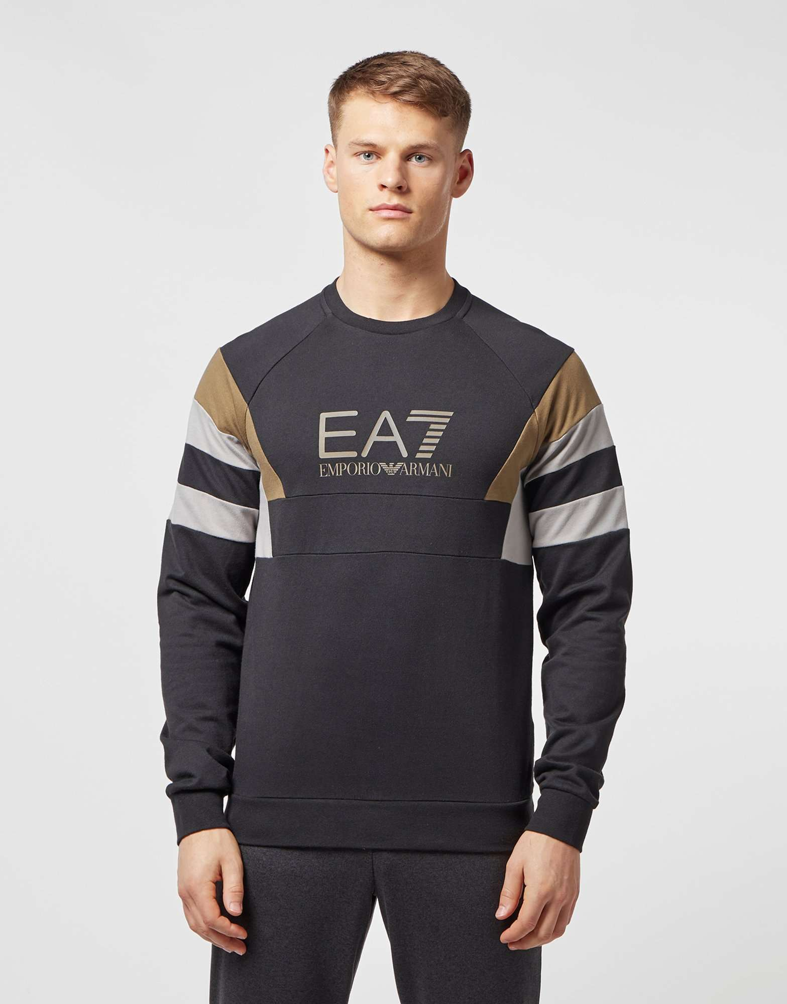Emporio Armani EA7 Retro Panelled Sweatshirt - Exclusive