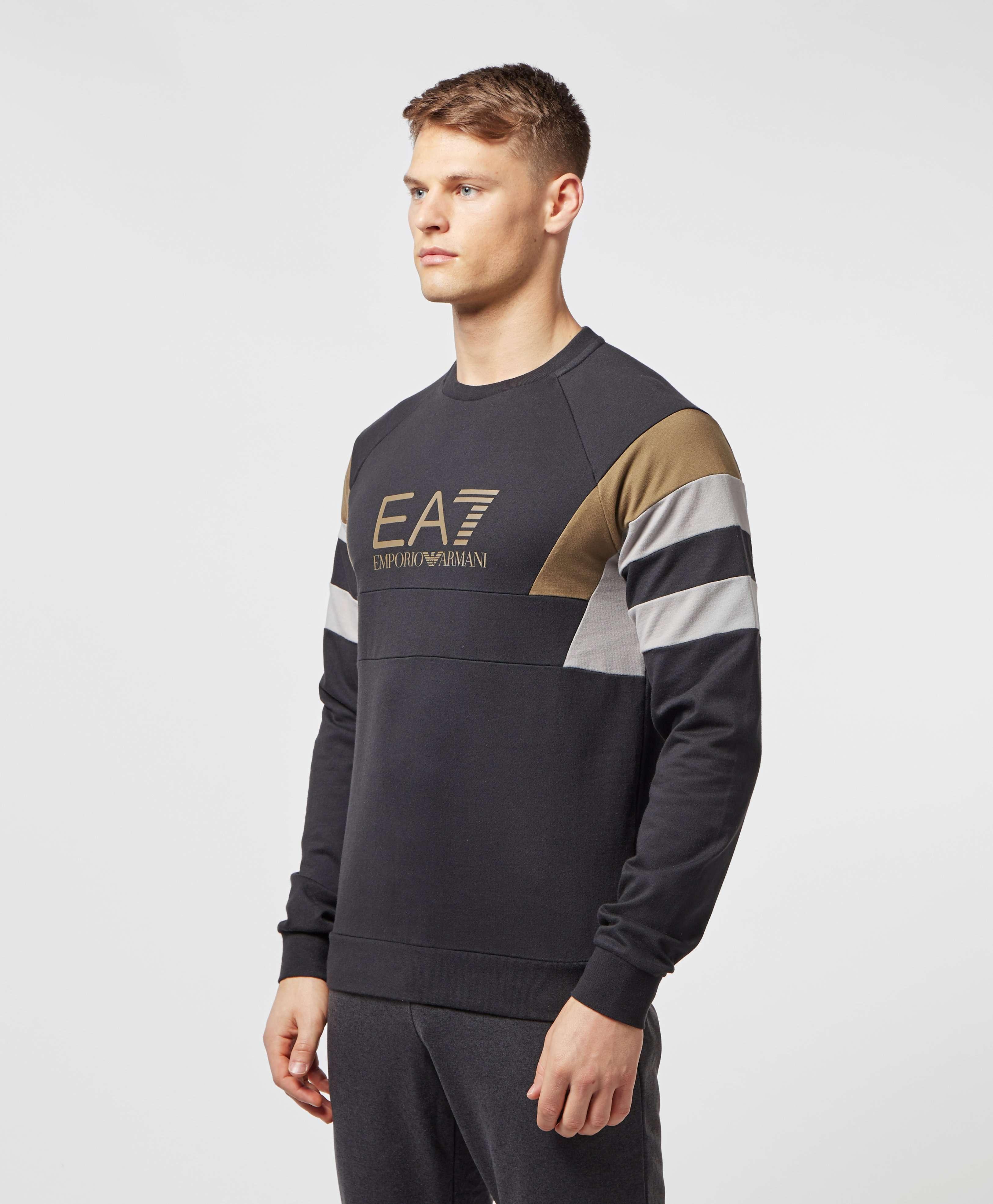 Emporio Armani EA7 Retro Panelled Sweatshirt - Exclusive