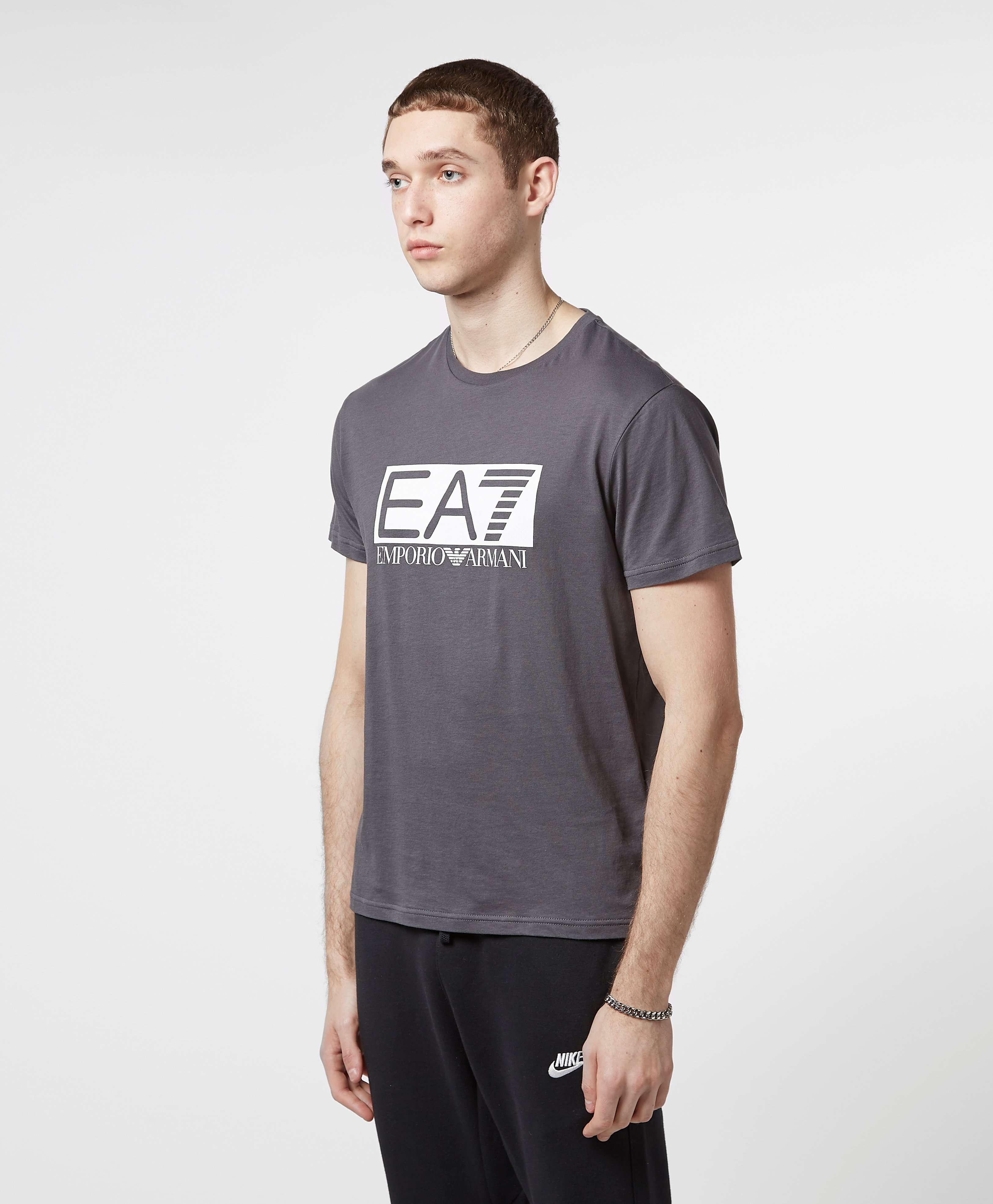 Emporio Armani EA7 Visibility Reflective Logo T-Shirt