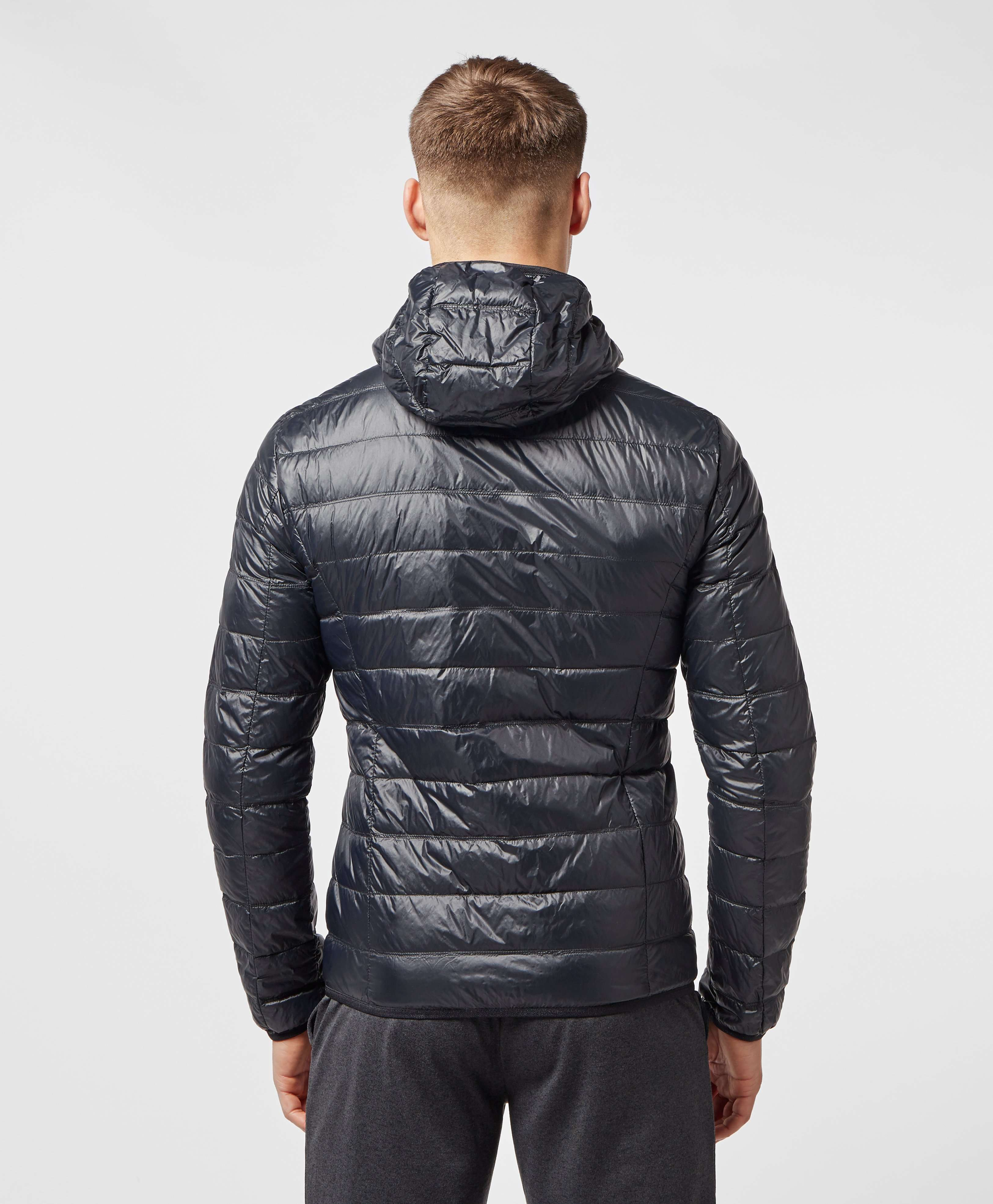 Emporio Armani EA7 Branded Zip Bubble Jacket