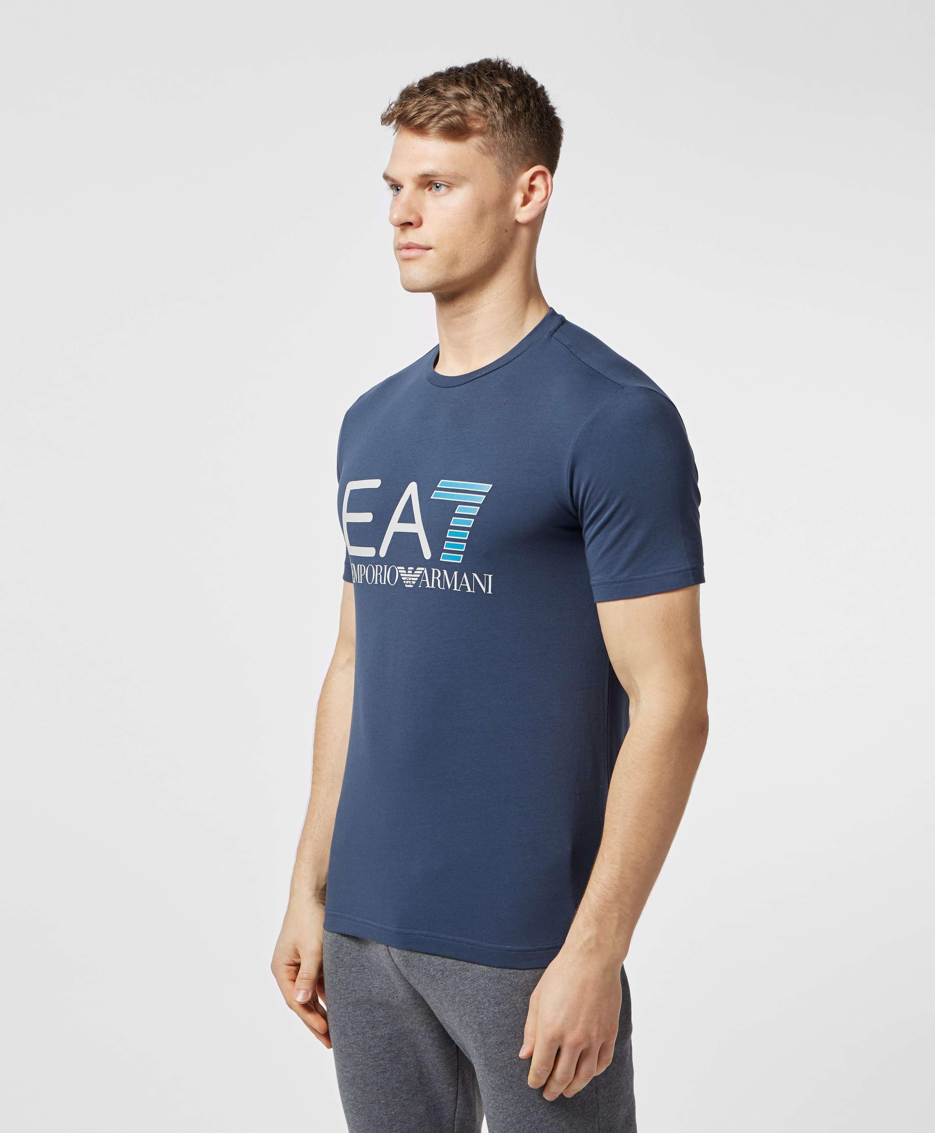 Emporio Armani EA7 Large Logo Short Sleeve T-Shirt