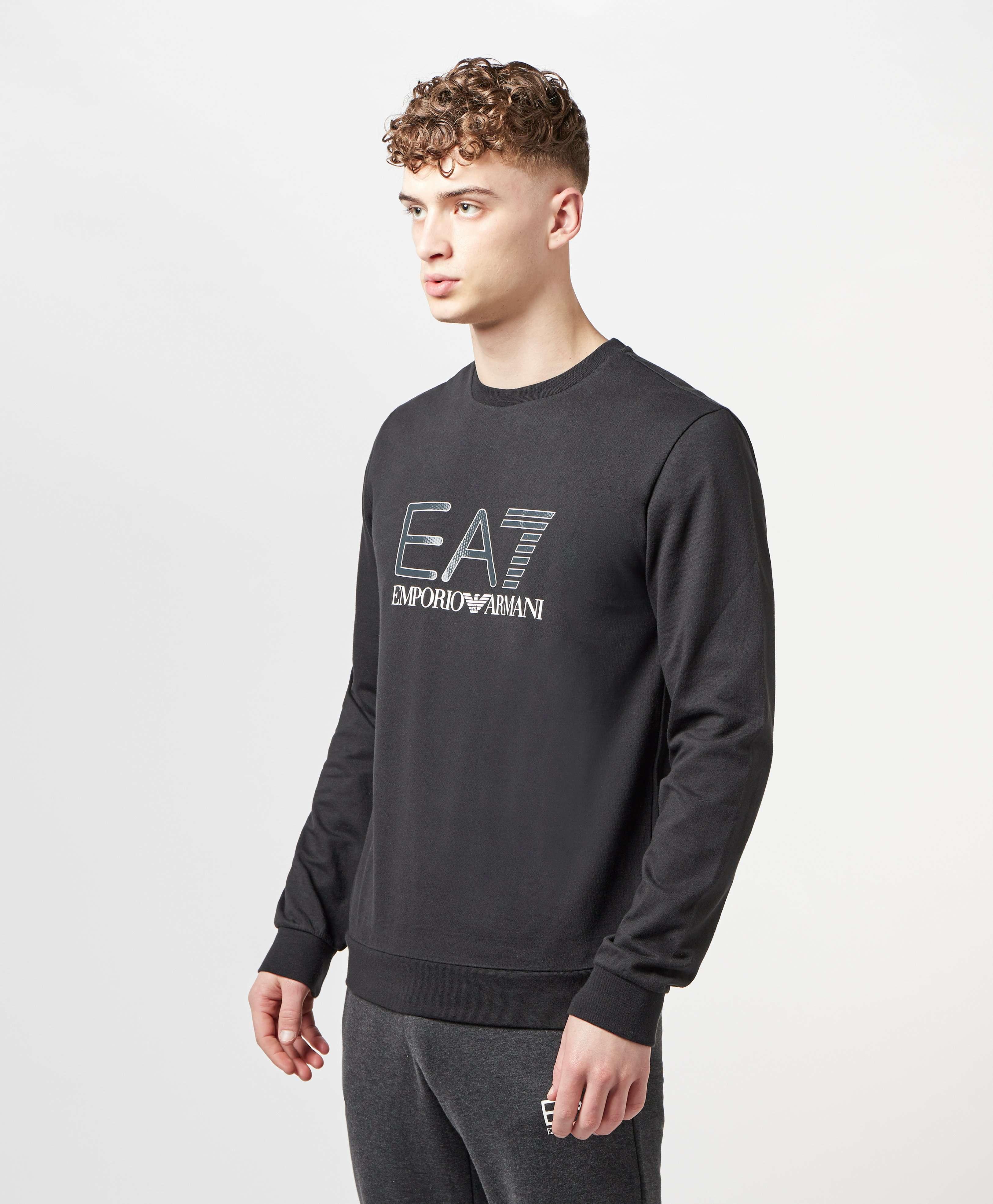 Emporio Armani EA7 Carbon Logo Sweatshirt