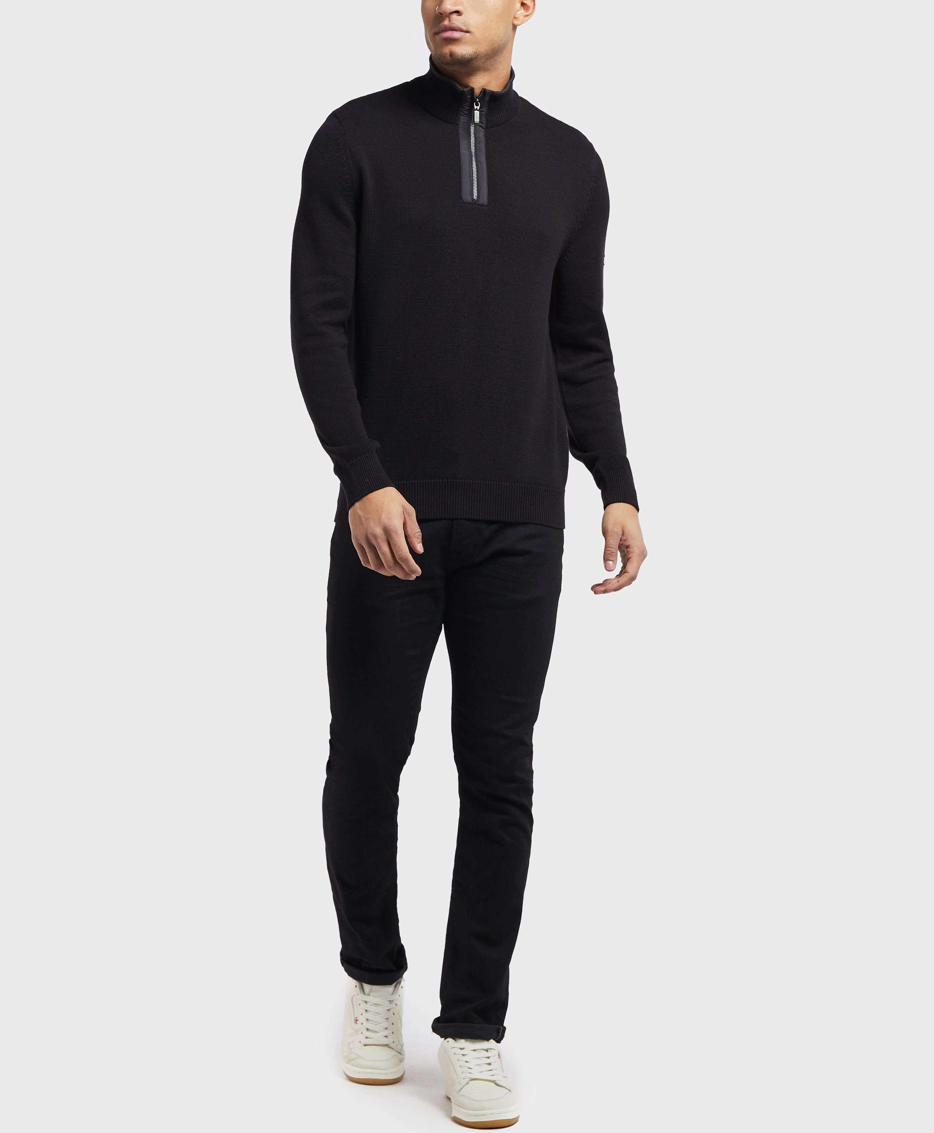 Barbour International Trap Half Zip Sweatshirt