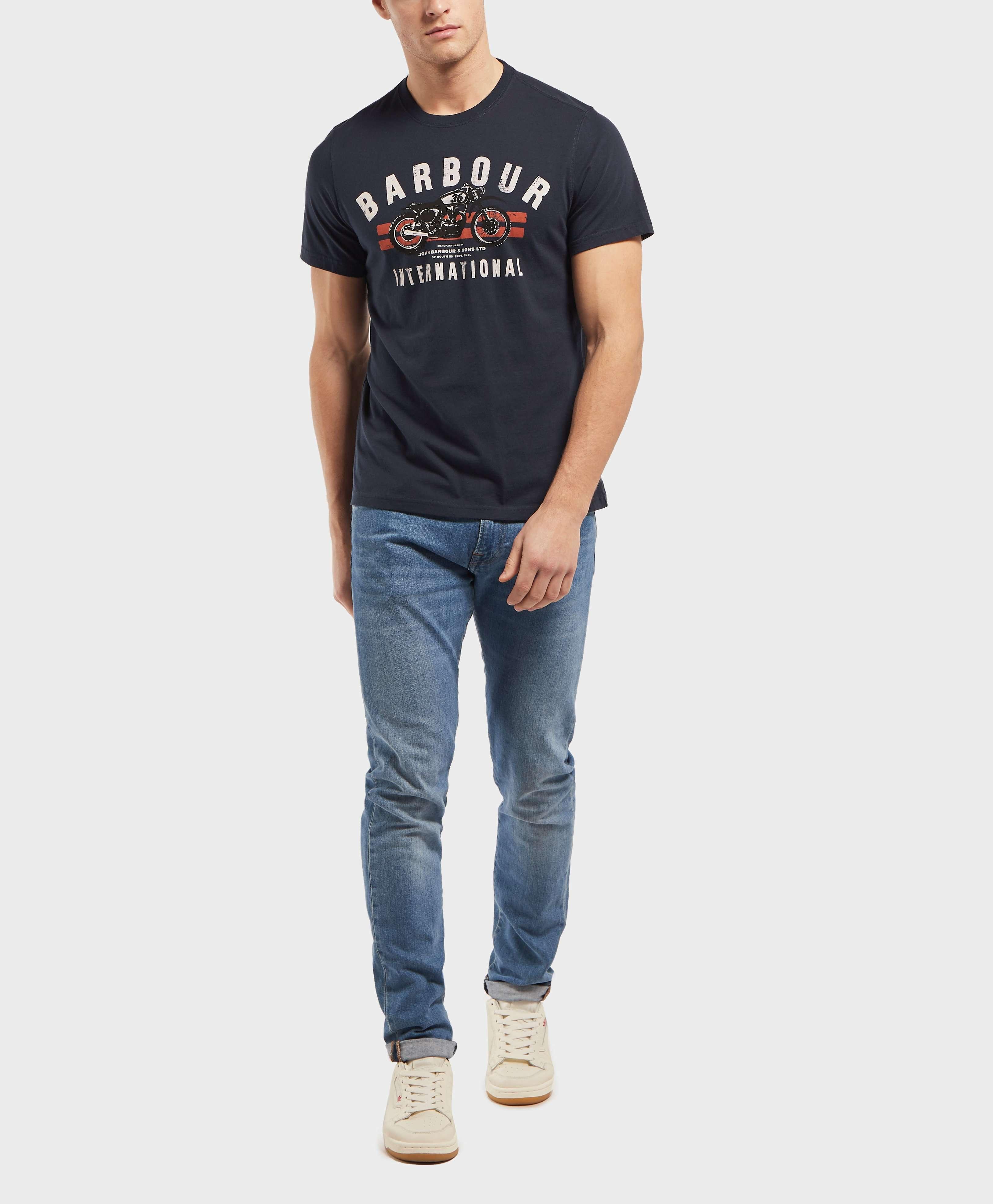 Barbour International Bike Short Sleeve T-Shirt
