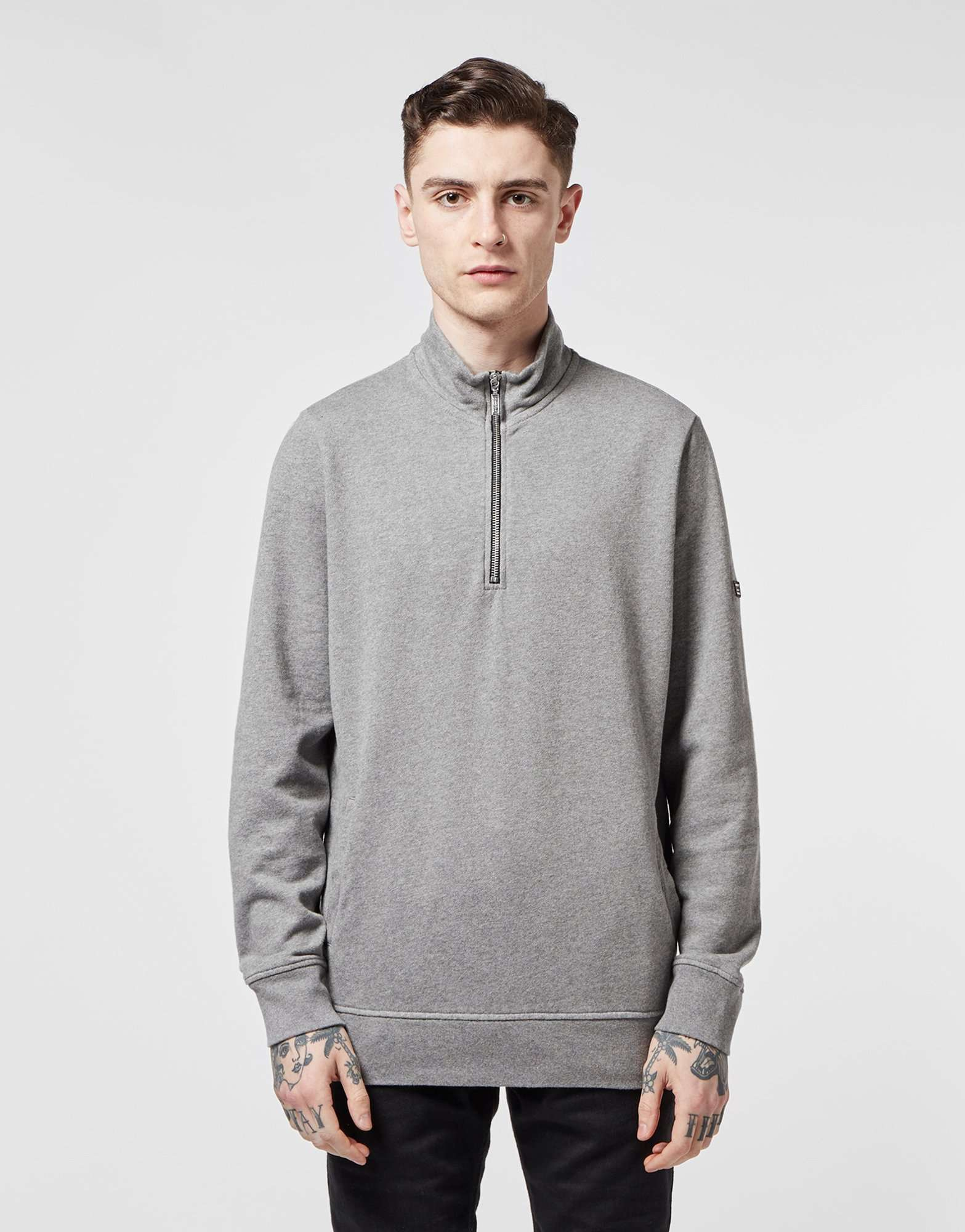 Barbour International Brytn Half Zip Sweatshirt