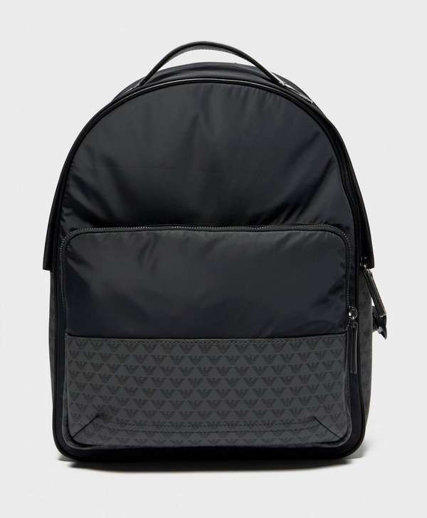 Emporio Armani Nylon Backpack   scotts Menswear d0e58fe344