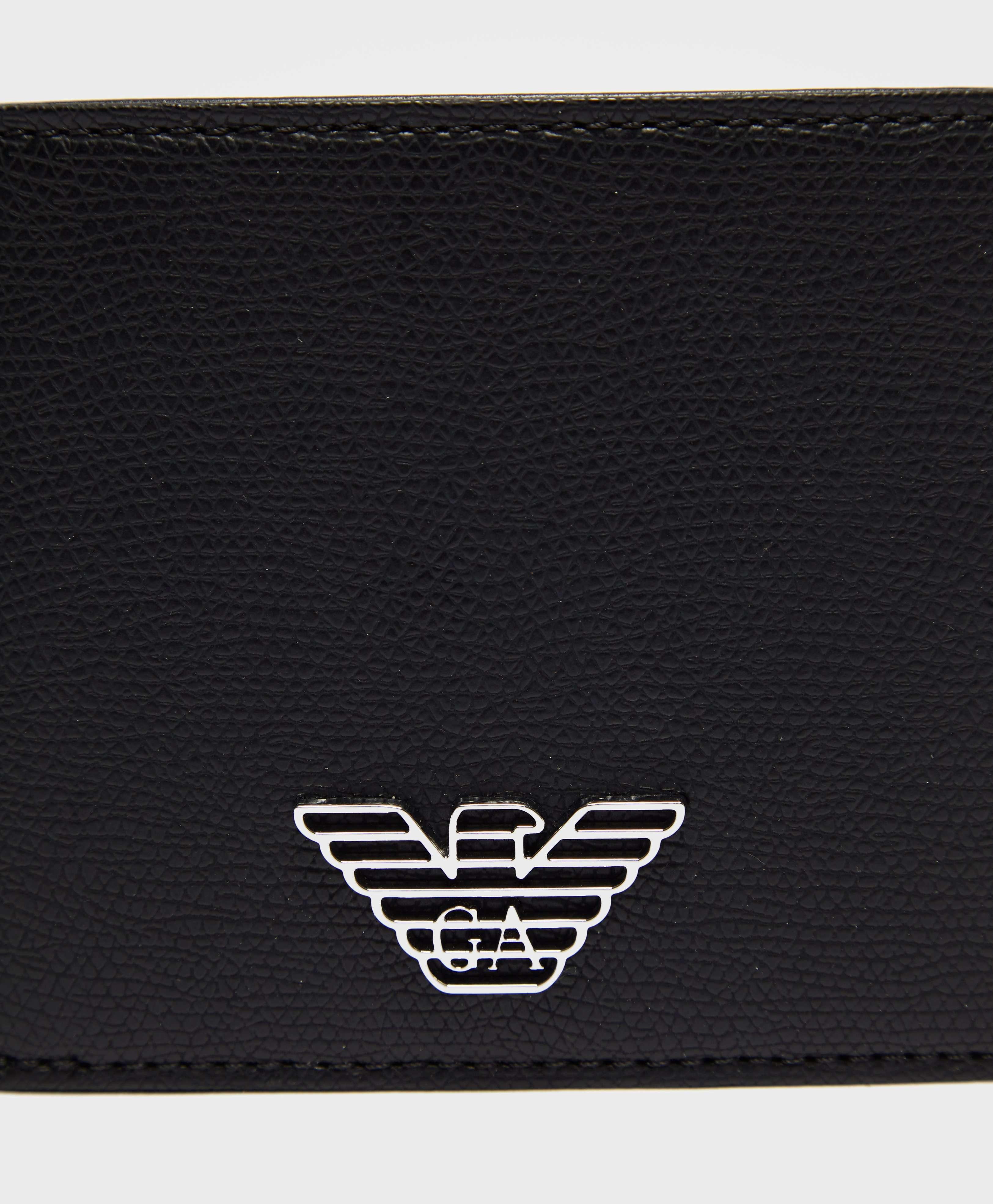 Emporio Armani Eagle Bill Wallet
