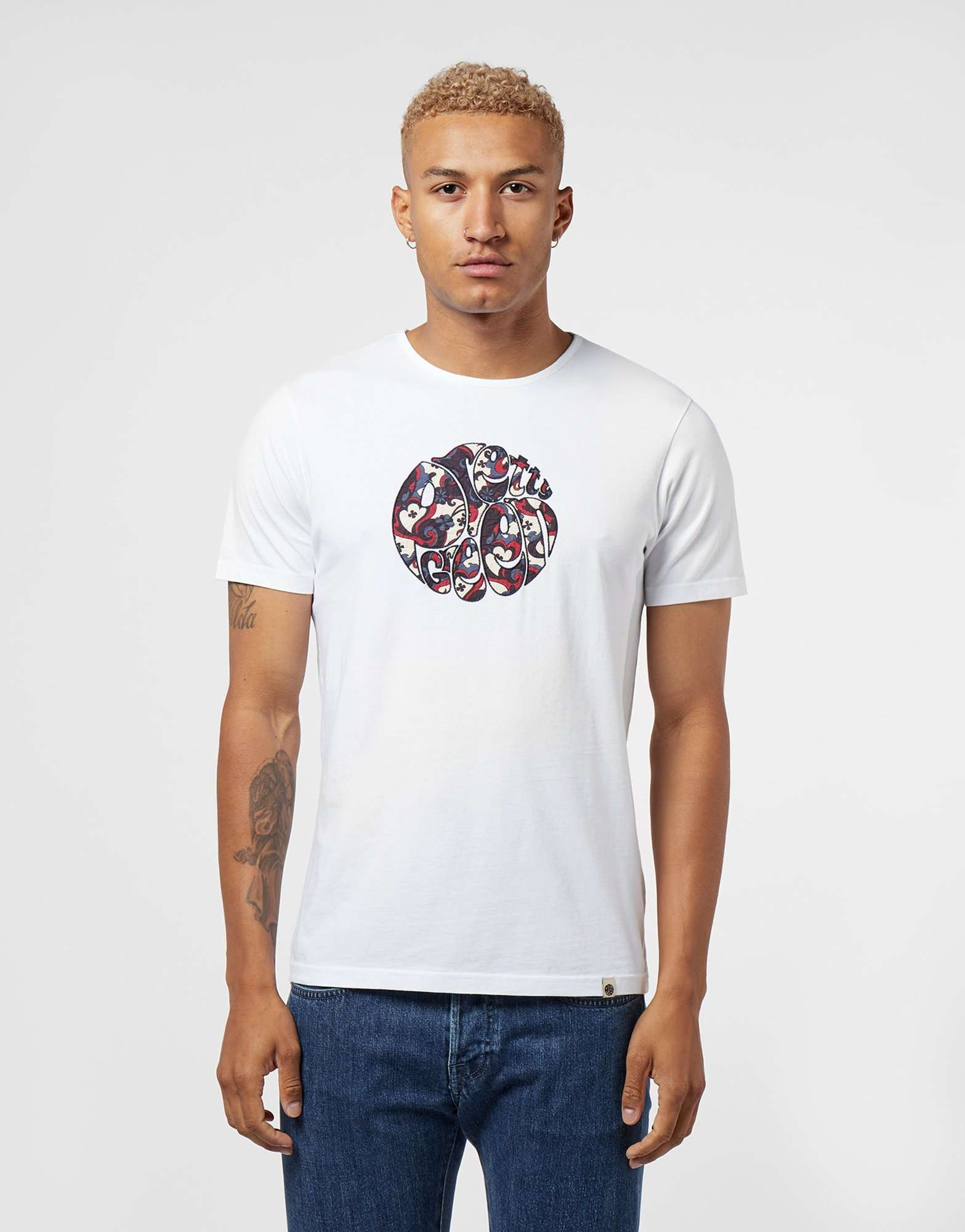 Pretty Green Beaufort Applique Short Sleeve T-Shirt - Exclusive