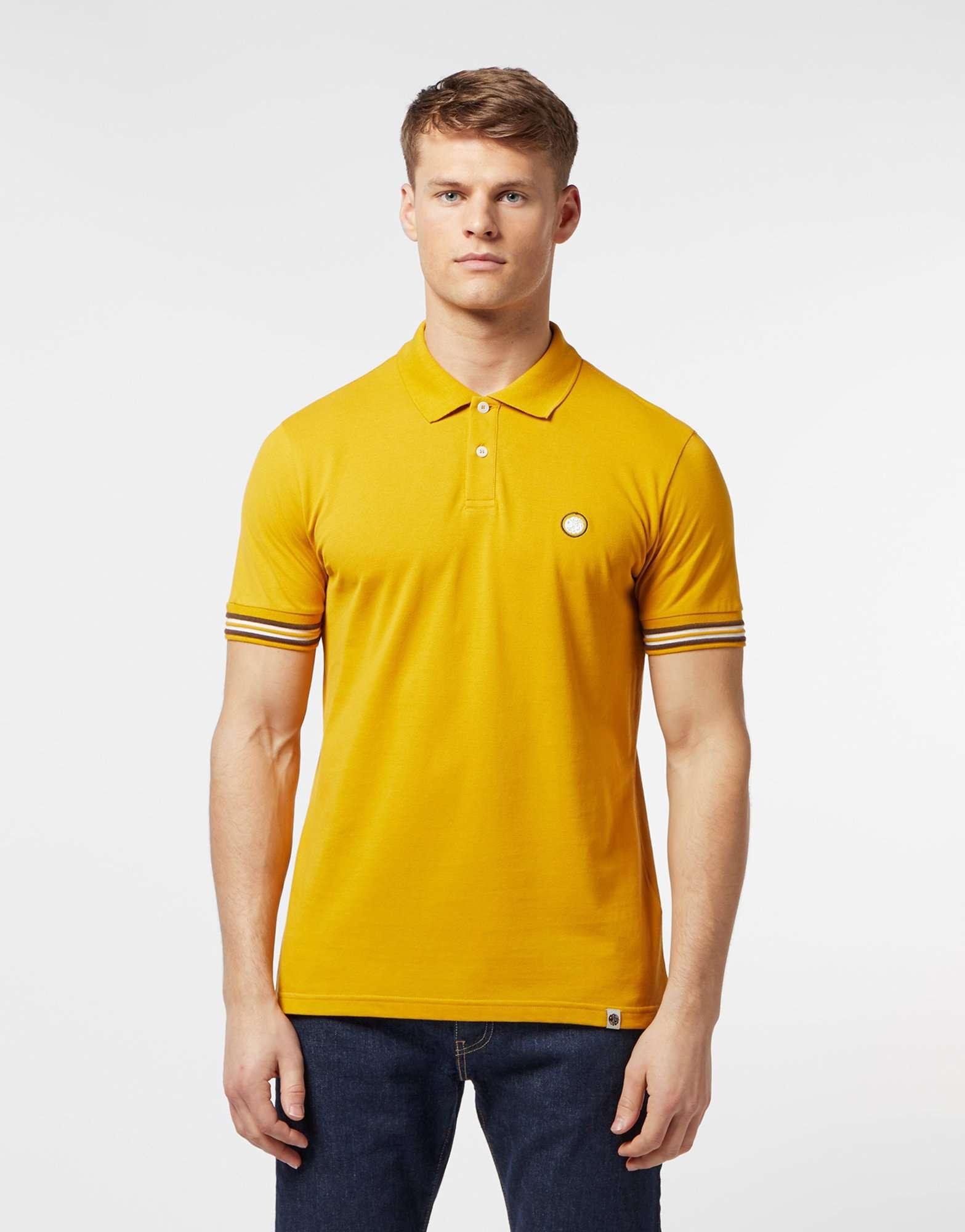 Pretty Green Rossyln Short Sleeve Polo Shirt