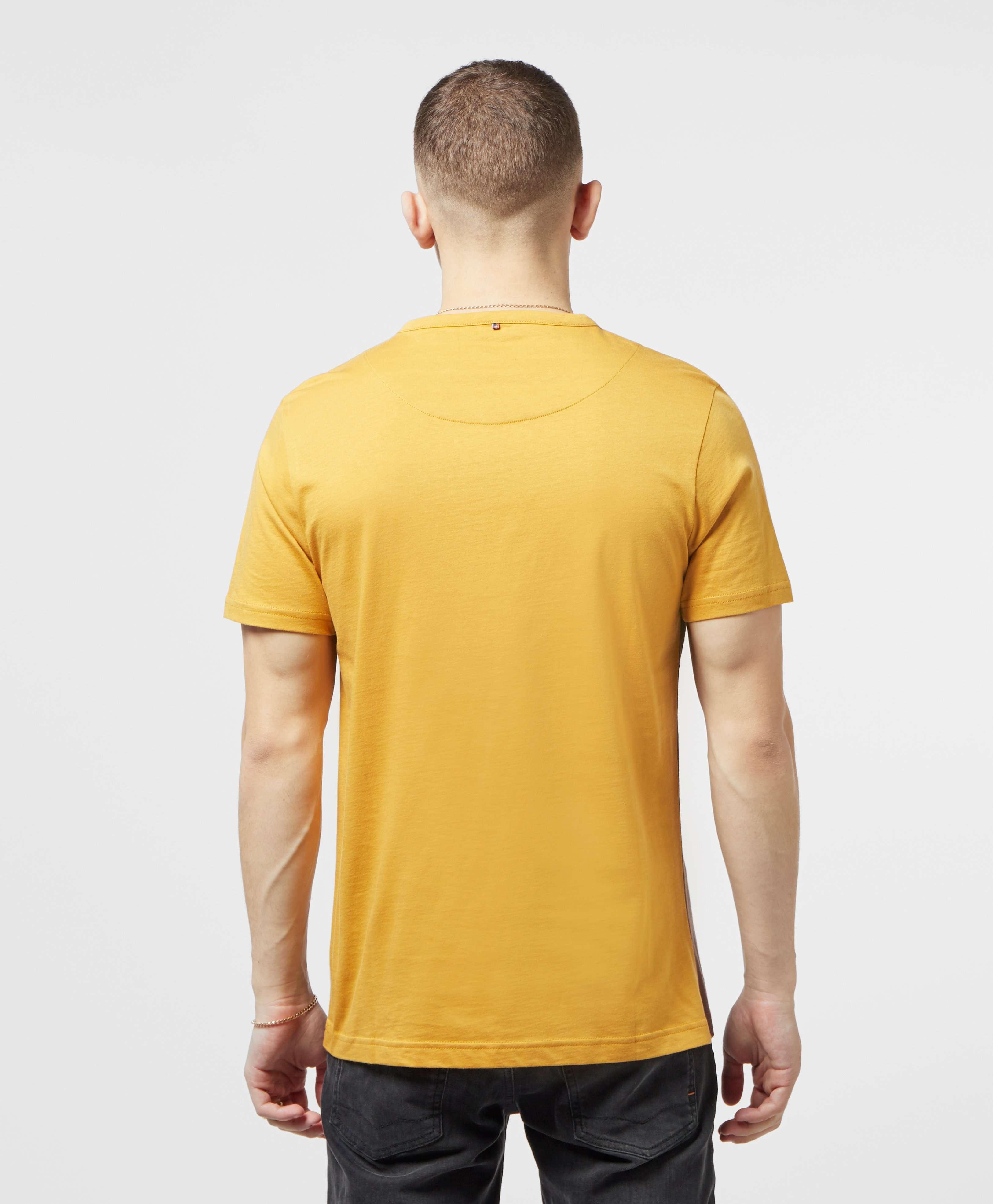 Pretty Green Short Sleeve Colour Block T-Shirt