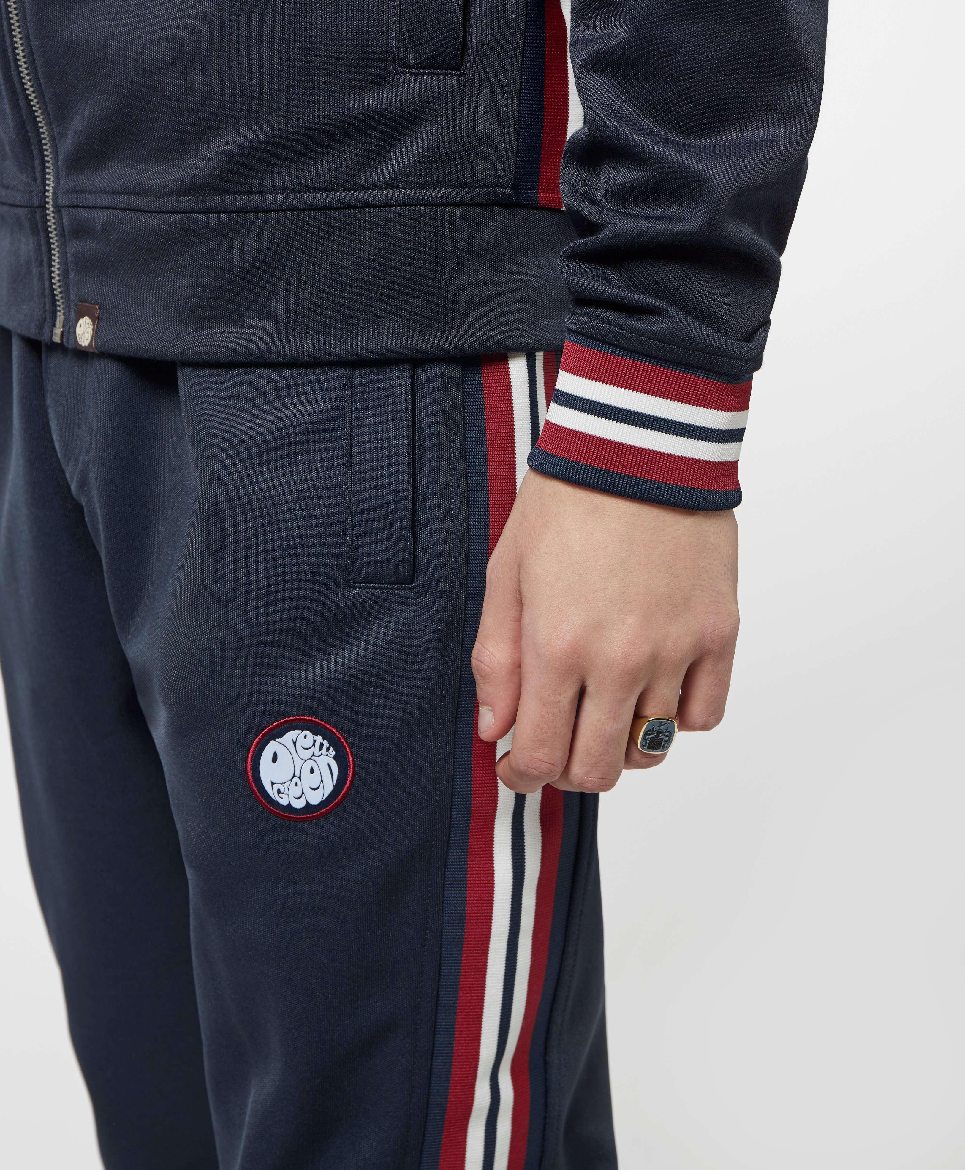 Pretty Green Tape Cuffed Fleece Pants - Online Exclusive