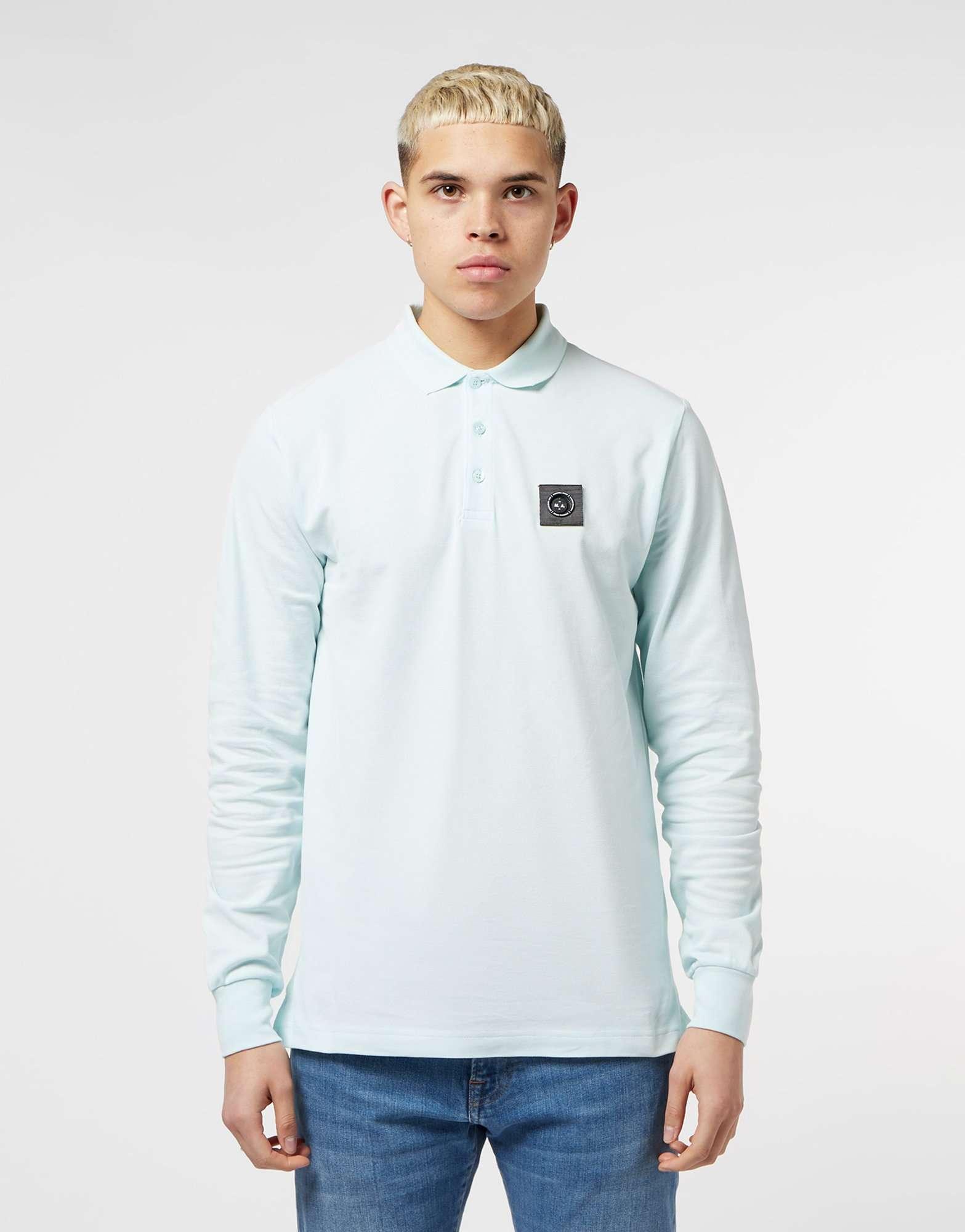 Marshall Artist Long Sleeve Siren Polo Shirt