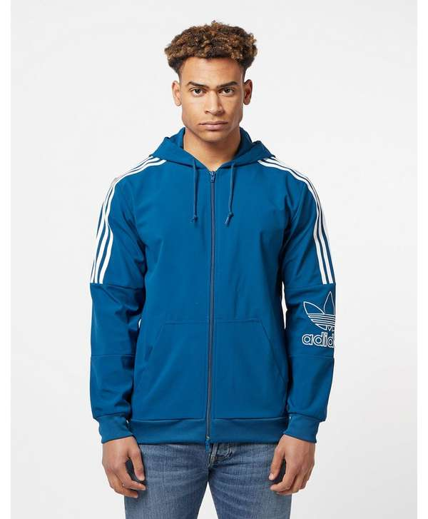 Adidas Originals Hoodie Full Trefoil Zip ZSxAwZrq