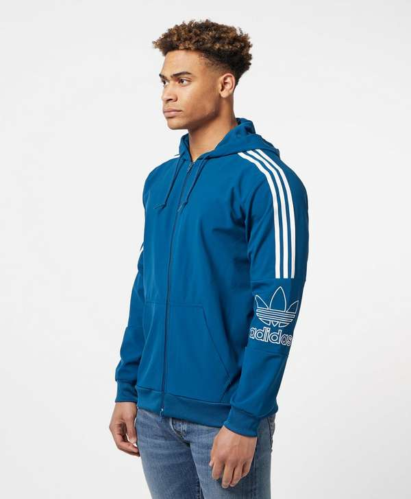 adidas Originals Trefoil Outline 2.0 Full Zip Hoodie  43831a560