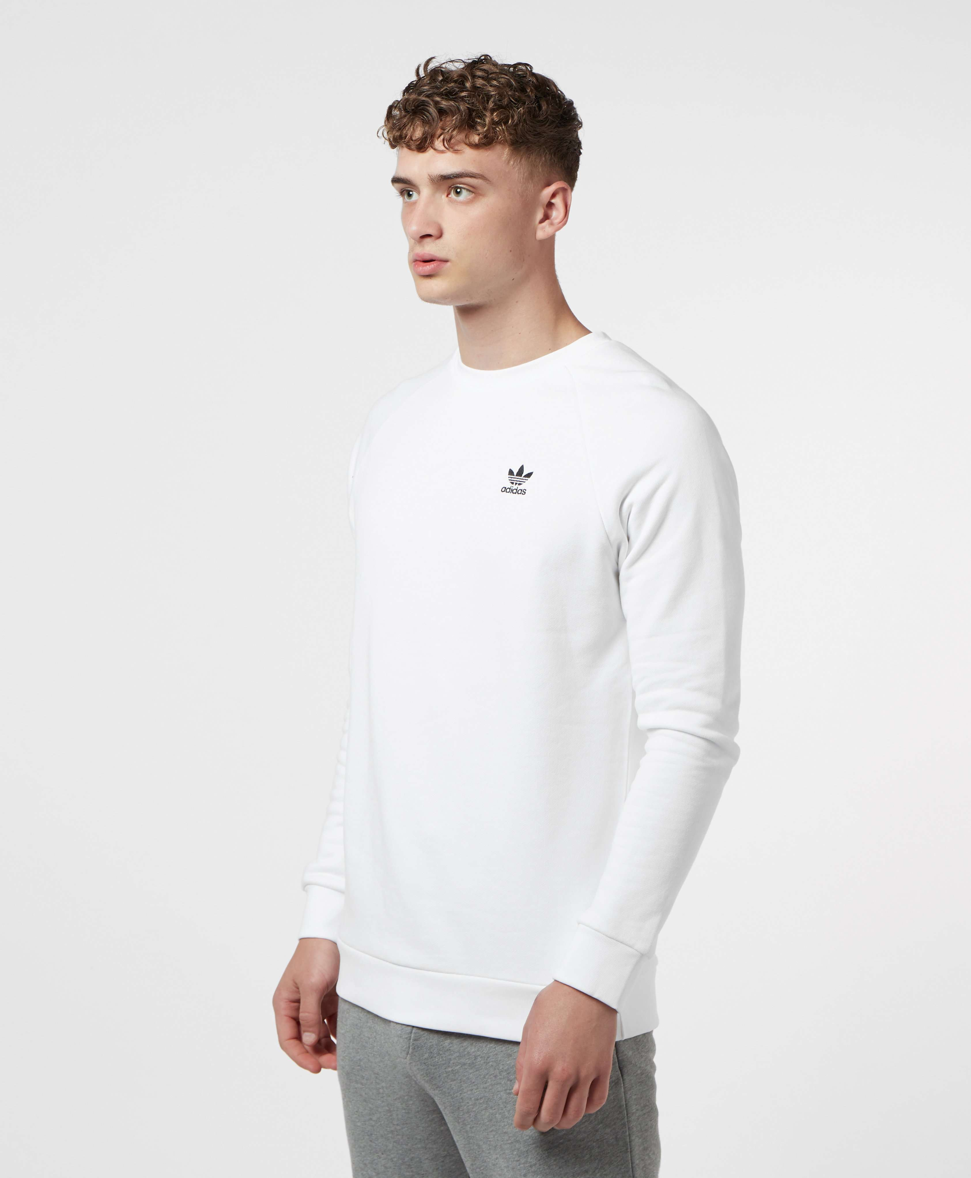 adidas Originals 3-Stripe Crew Sweatshirt
