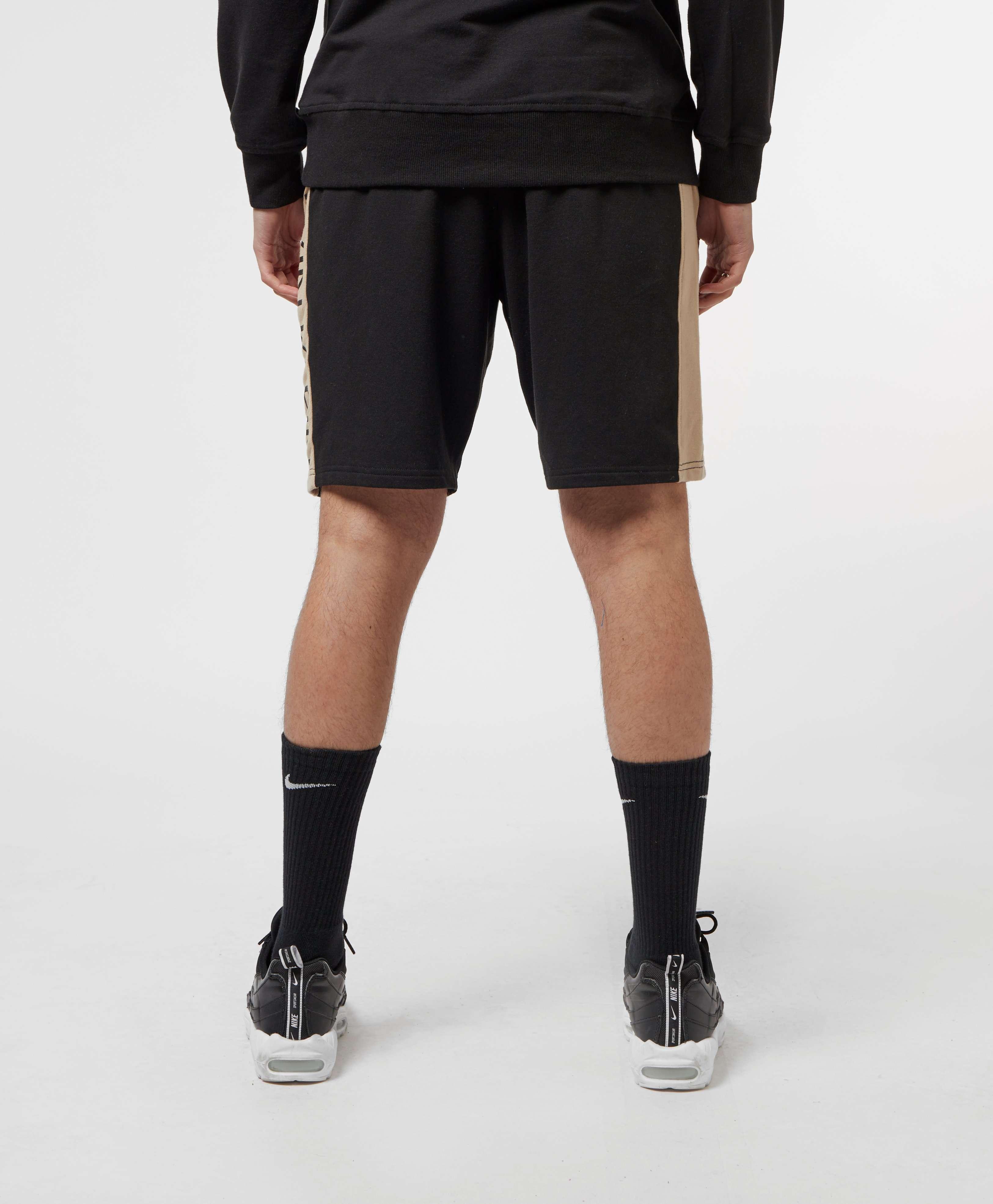Calvin Klein Panel Logo Fleece Shorts