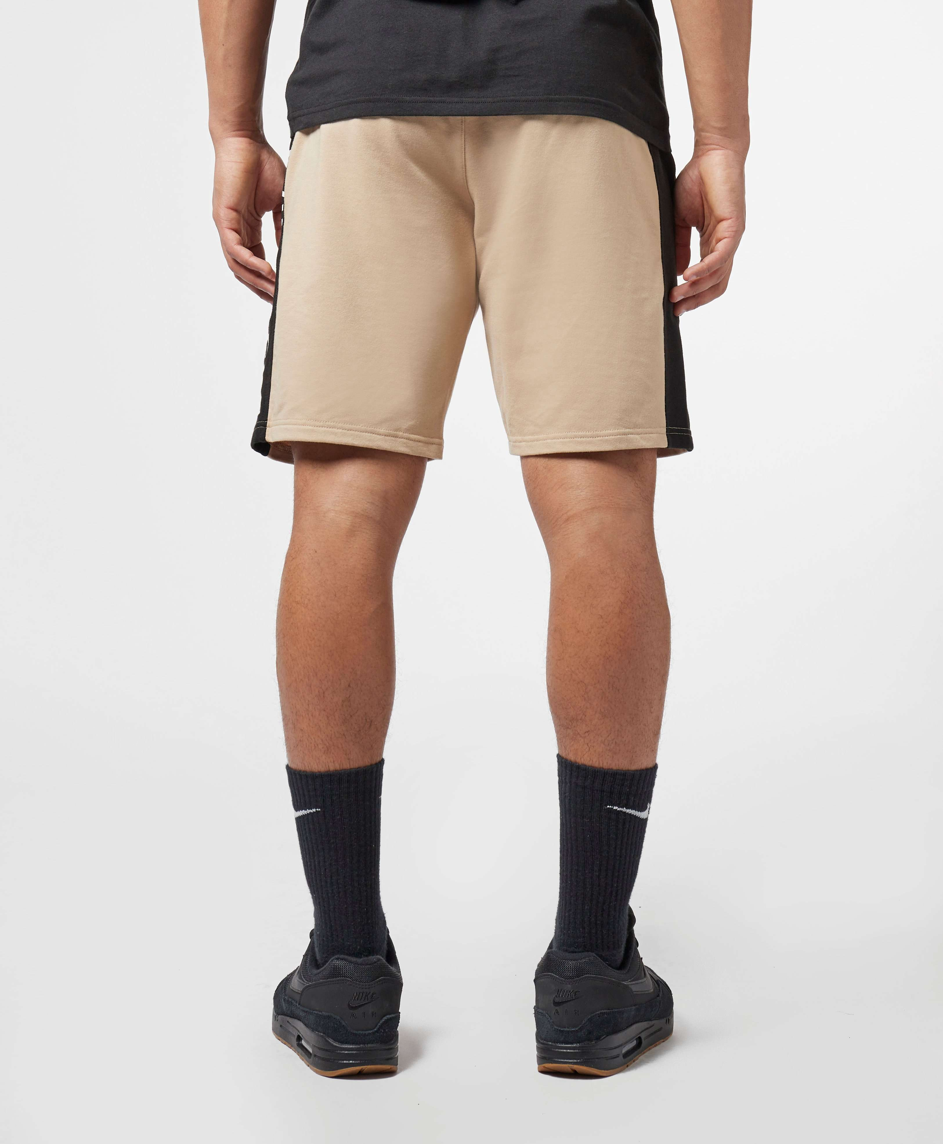 Calvin Klein Panel Logo Fleece Shorts