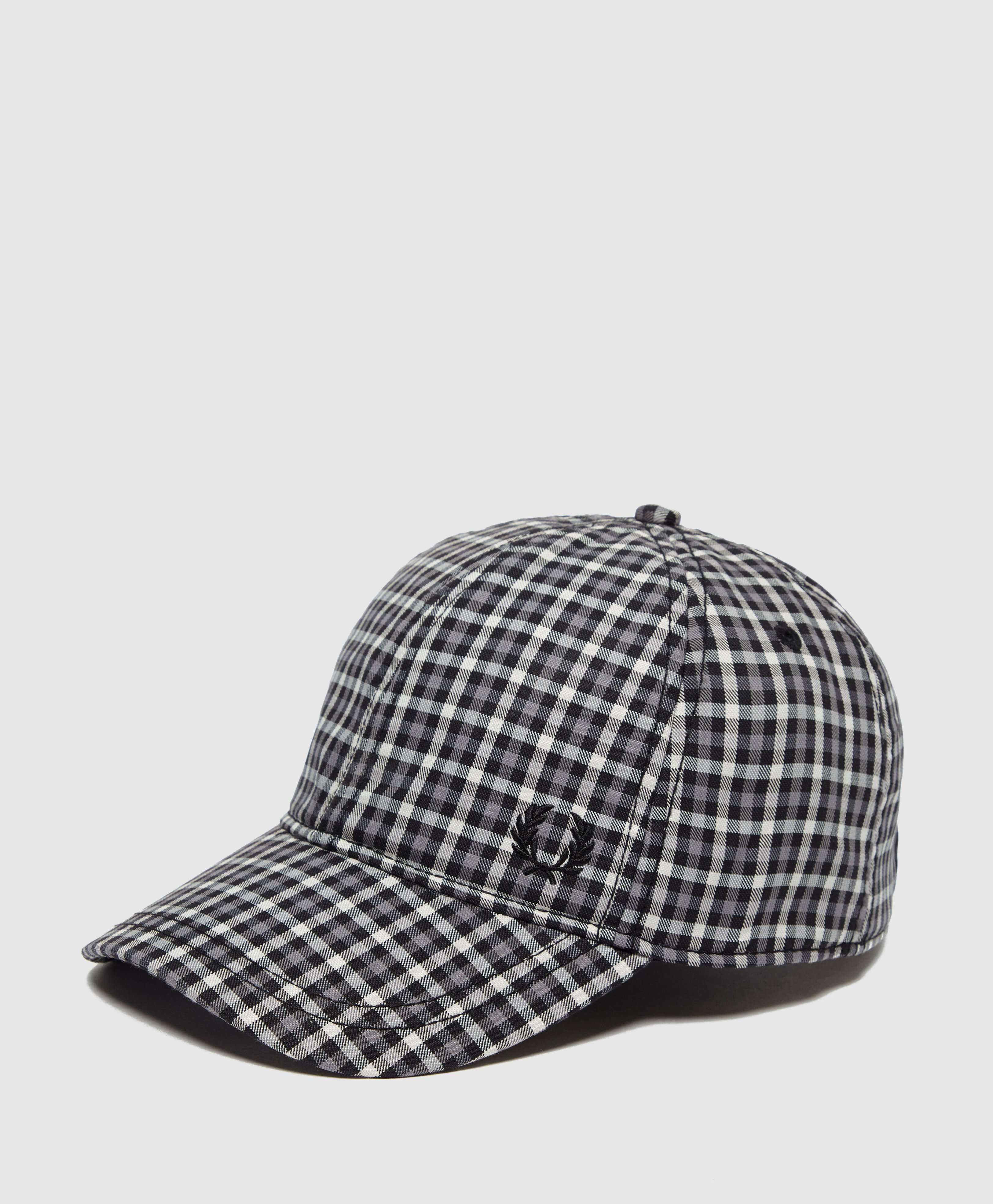 Fred Perry Crest Check Cap