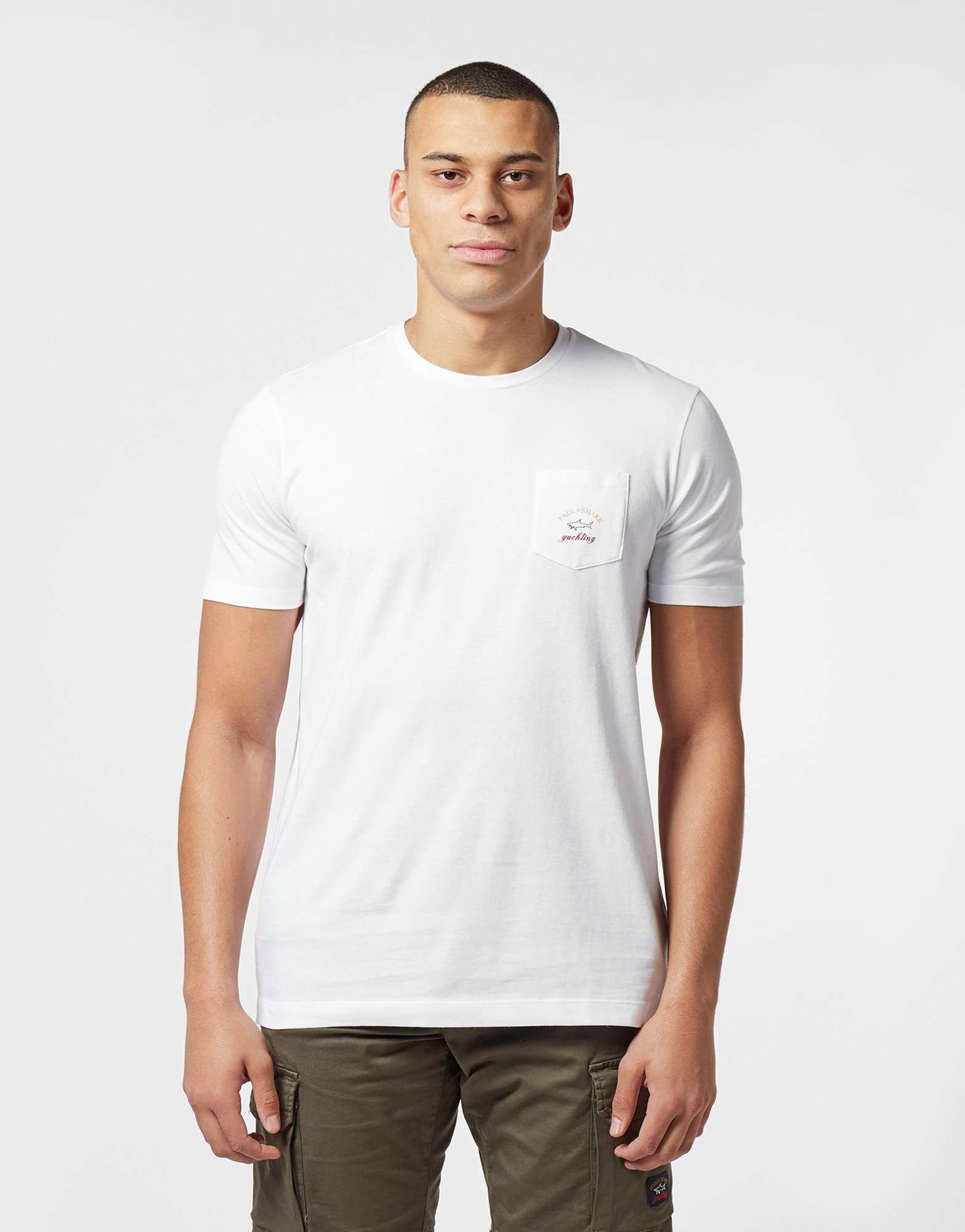 Paul and Shark Pocket Short Sleeve T-Shirt