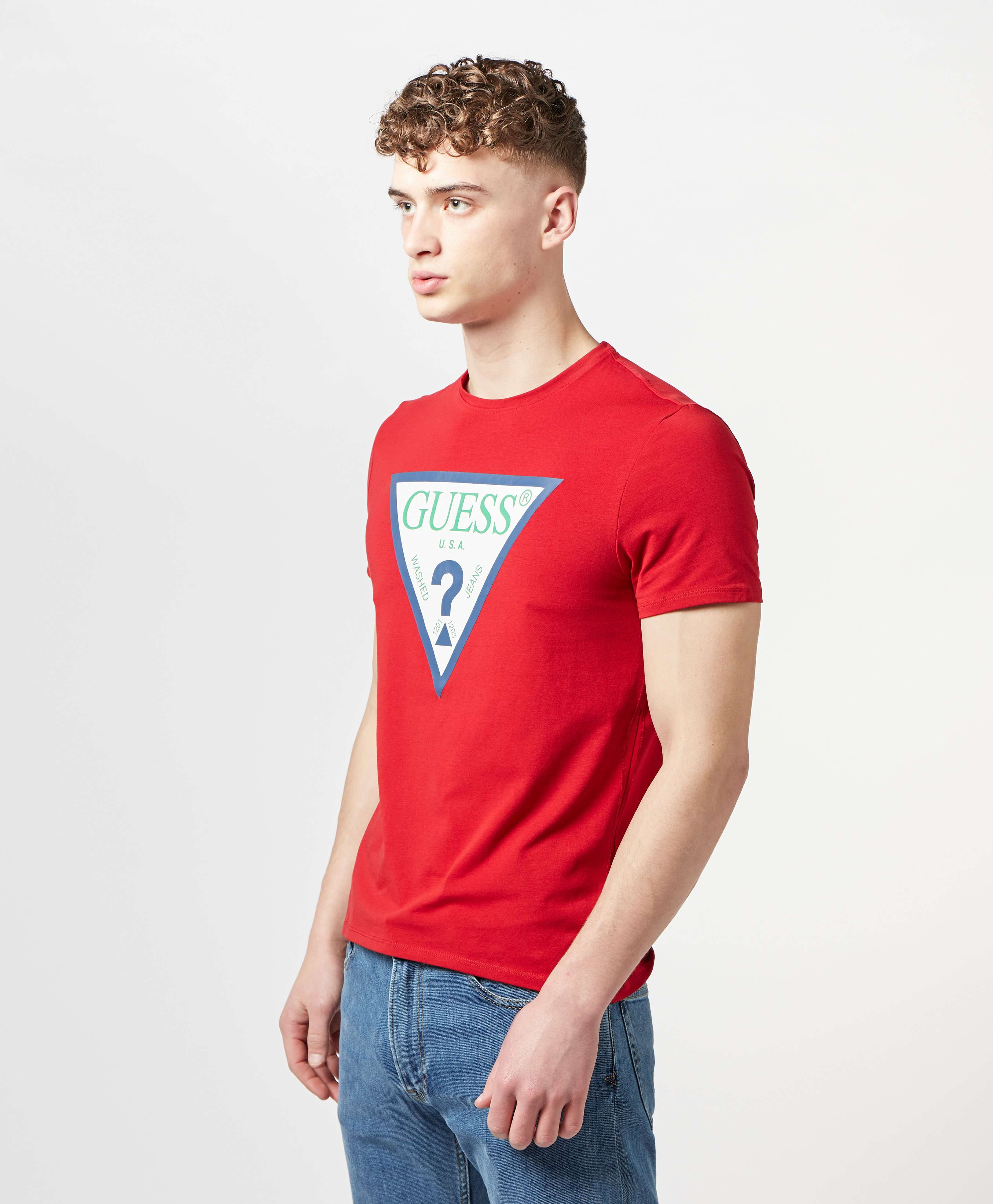 GUESS Club Logo Short Sleeve T-Shirt