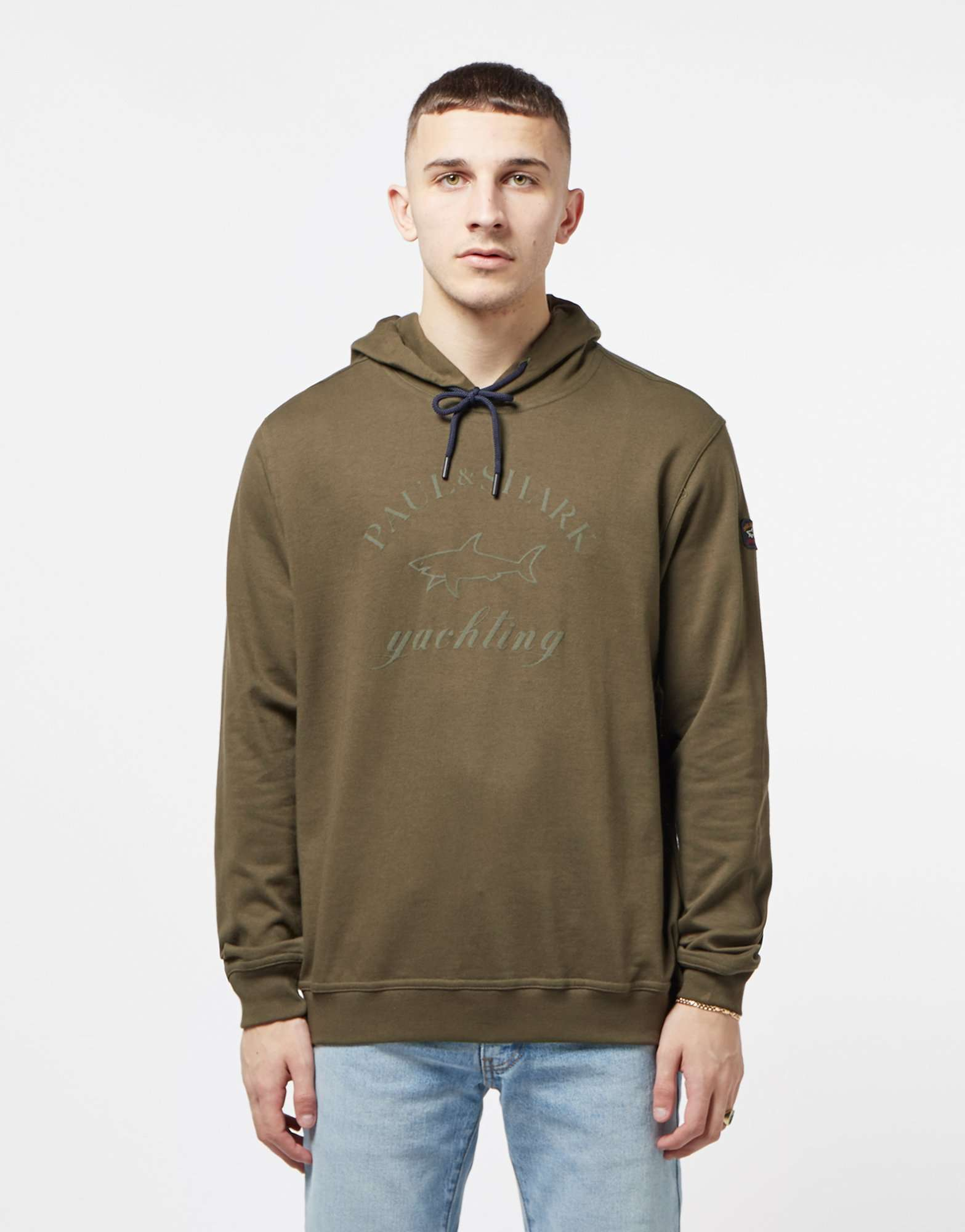 Paul and Shark Logo Overhead Hoodie