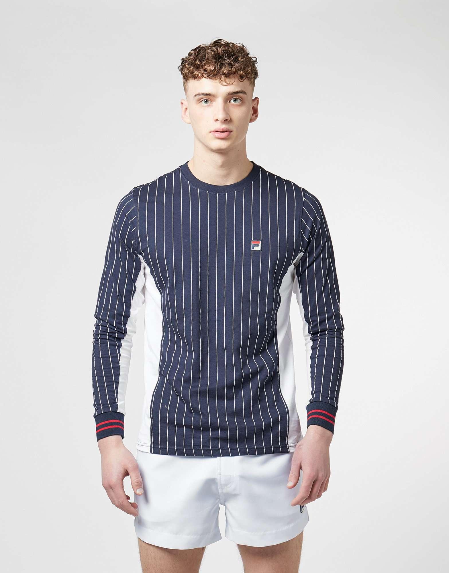 Fila Long Sleeve Stripe T-Shirt