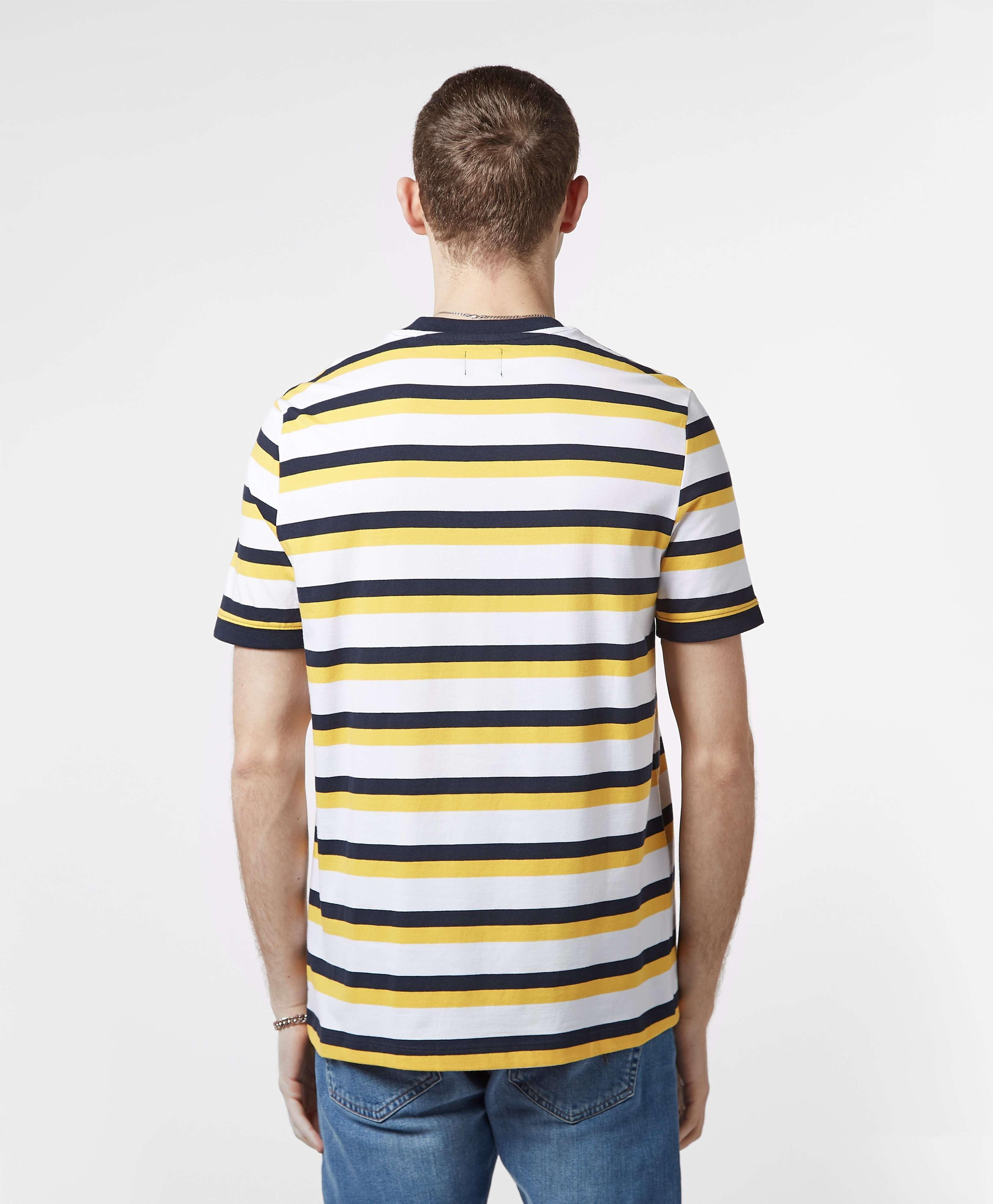 Guess Logo Stripe Short Sleeve T-Shirt