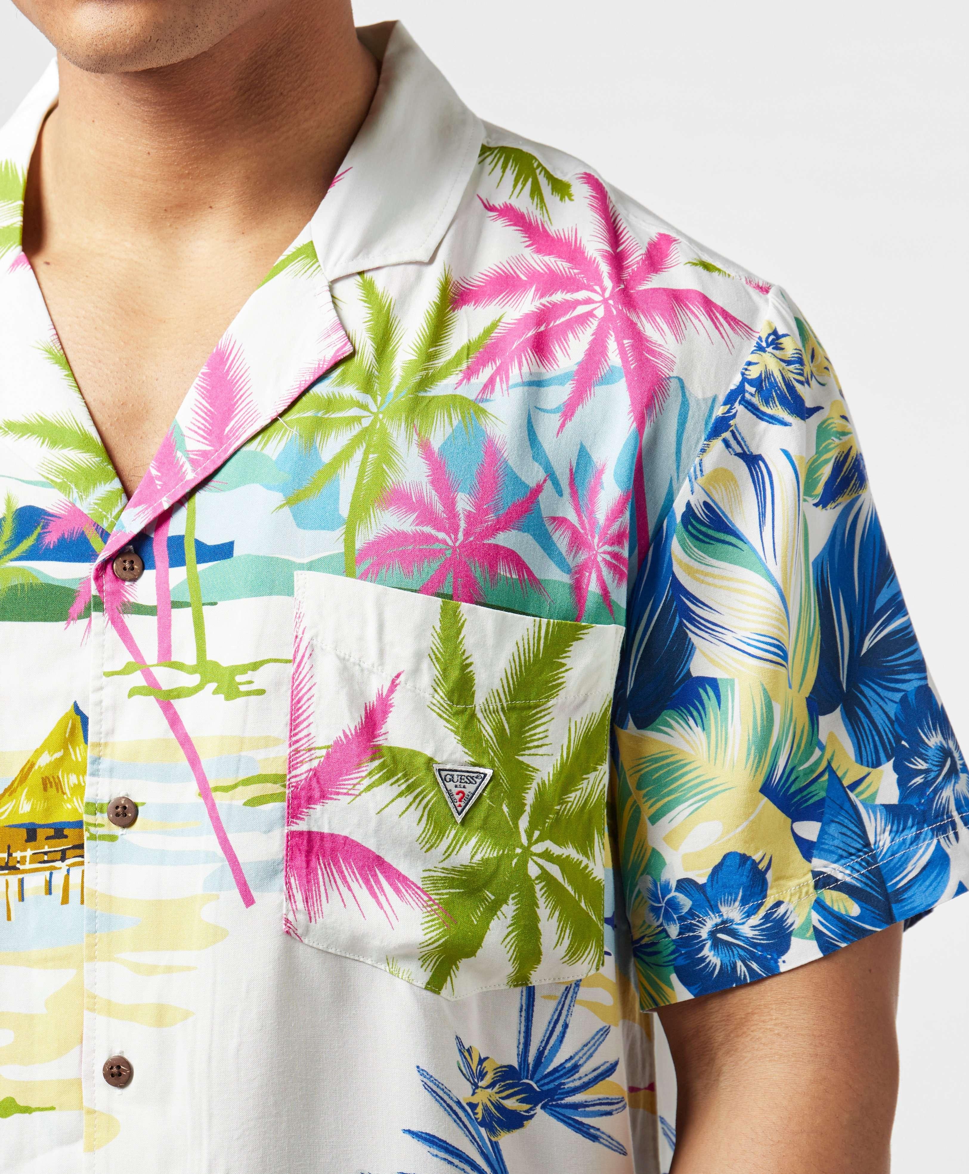 Guess Bowling Short Sleeve Shirt