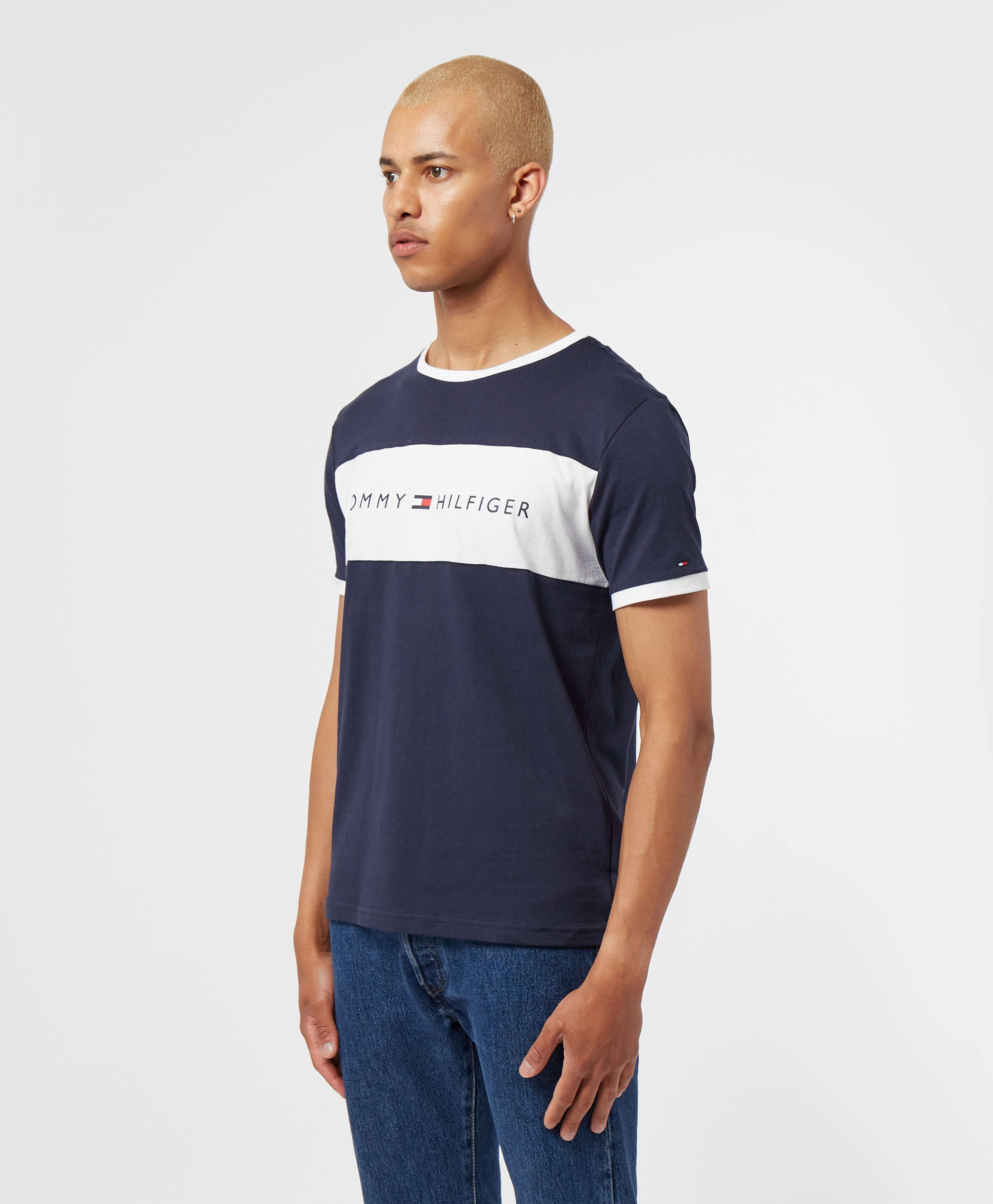 Tommy Hilfiger Logo Block Short Sleeve T-Shirt