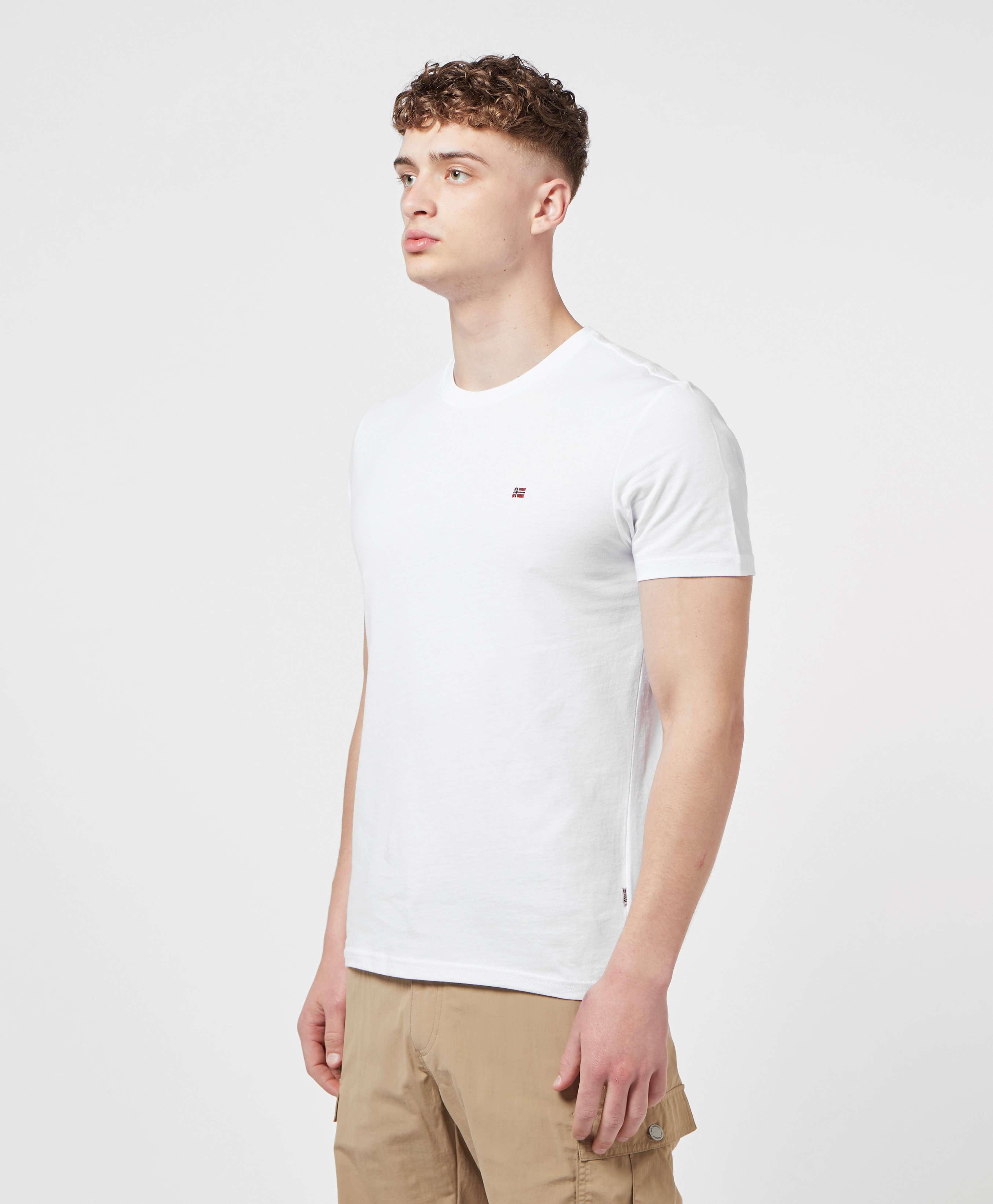 Napapijri Small Flag Short Sleeve T-Shirt