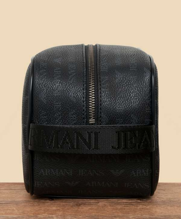 aa7af3c324d8 ... Armani Jeans All Over Wash Bag ...