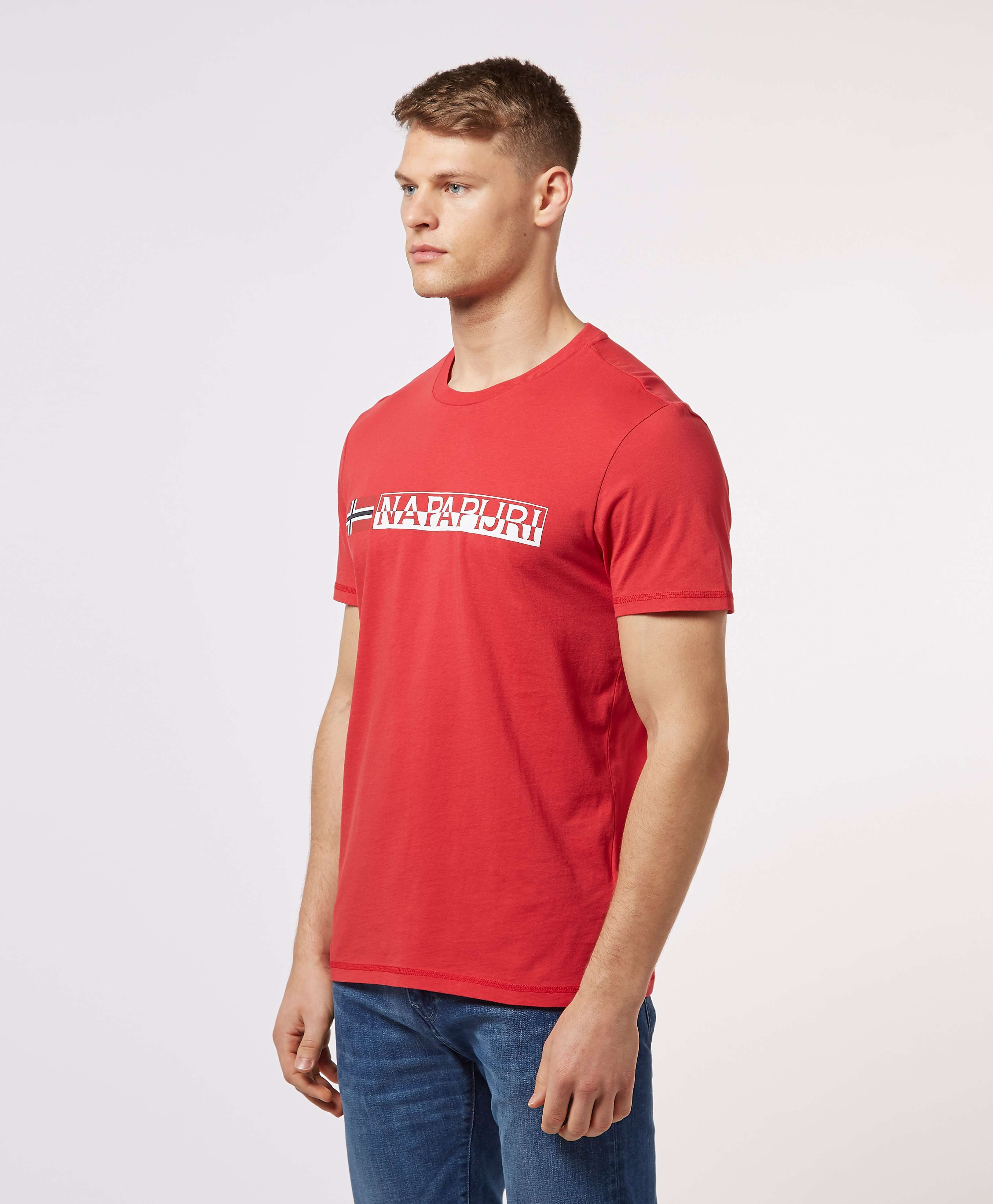 Napapijri Short Sleeve Logo T-Shirt - Exclusive
