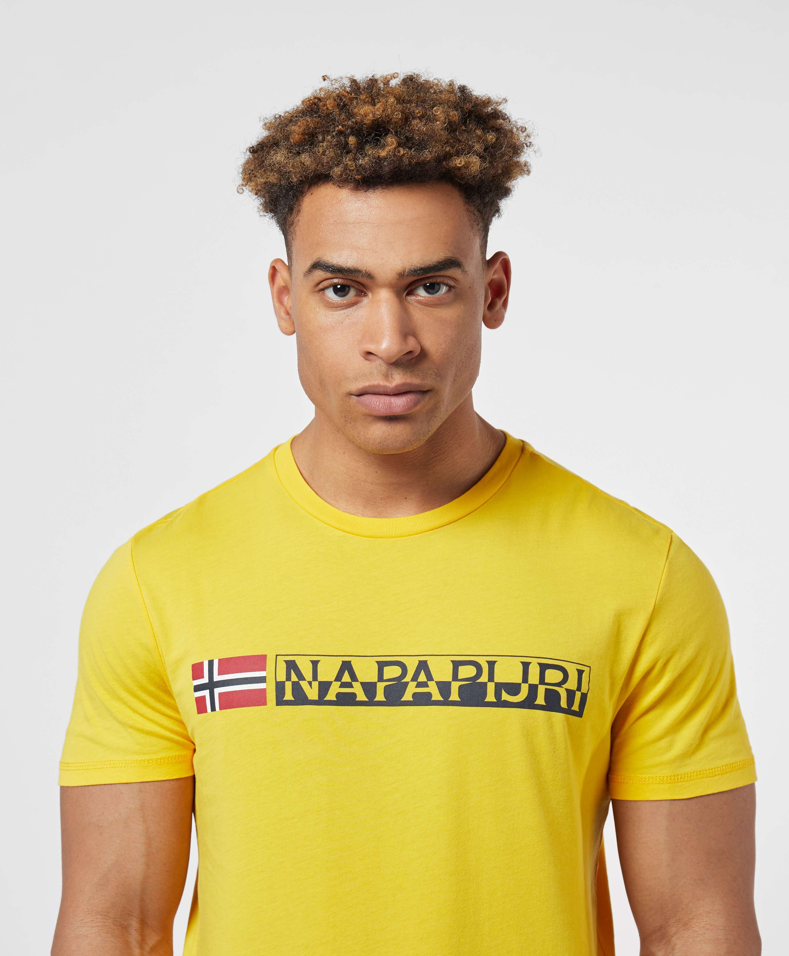 Napapijri Short Sleeve Logo T-Shirt - Exclusive
