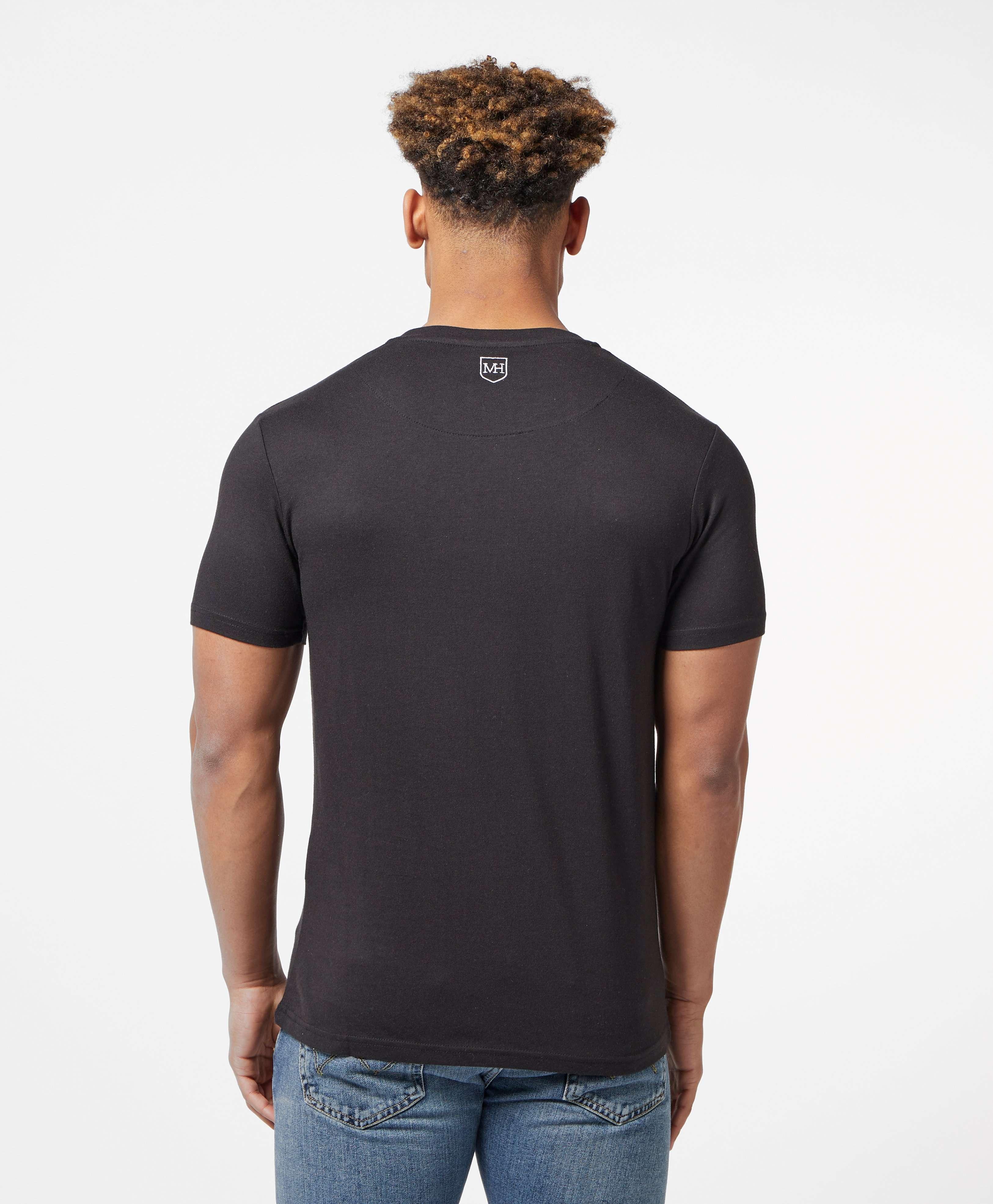 Millionaire Homme Paint Logo Short Sleeve T-Shirt - Online Exclusive